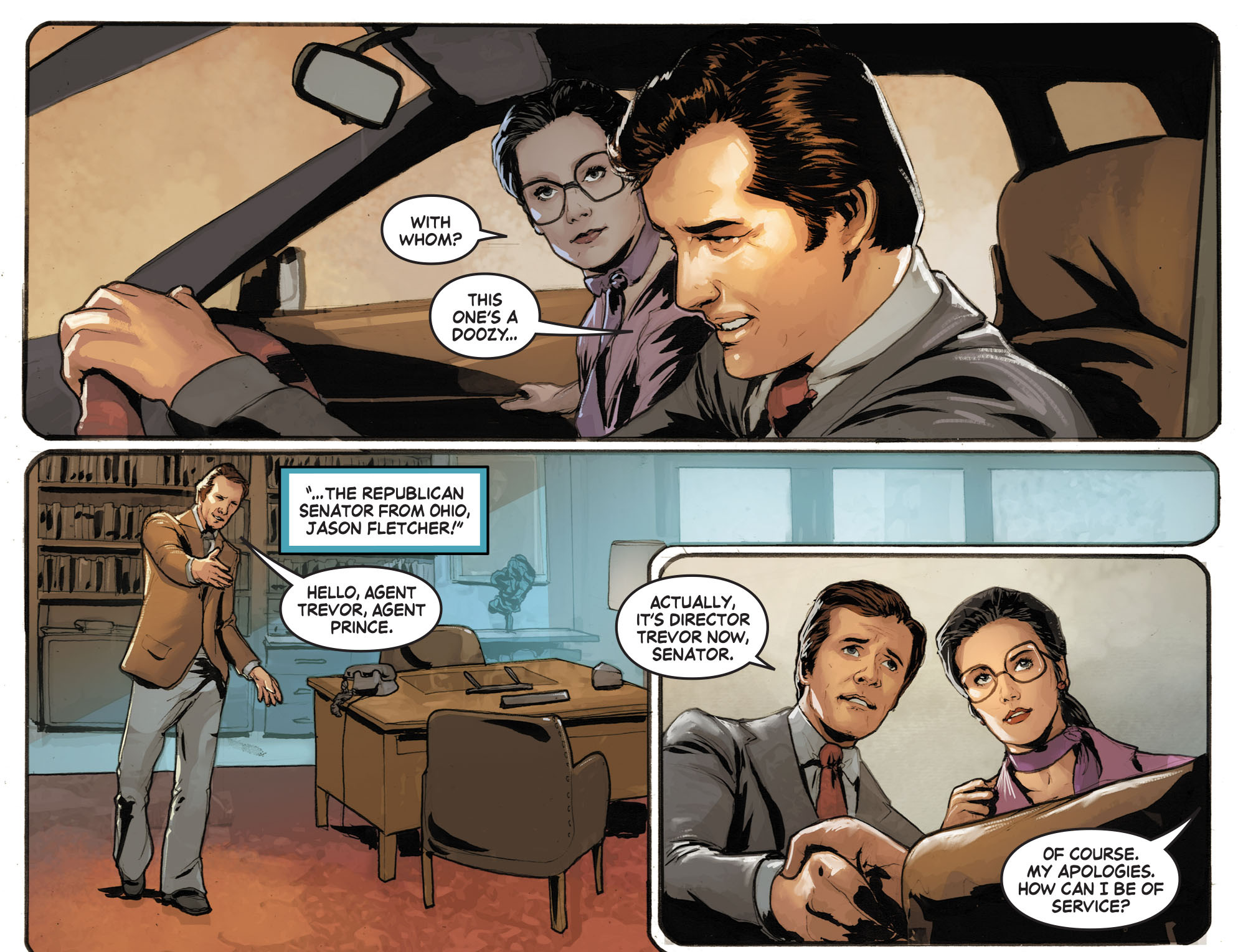 Read online Wonder Woman '77 [I] comic -  Issue #10 - 14