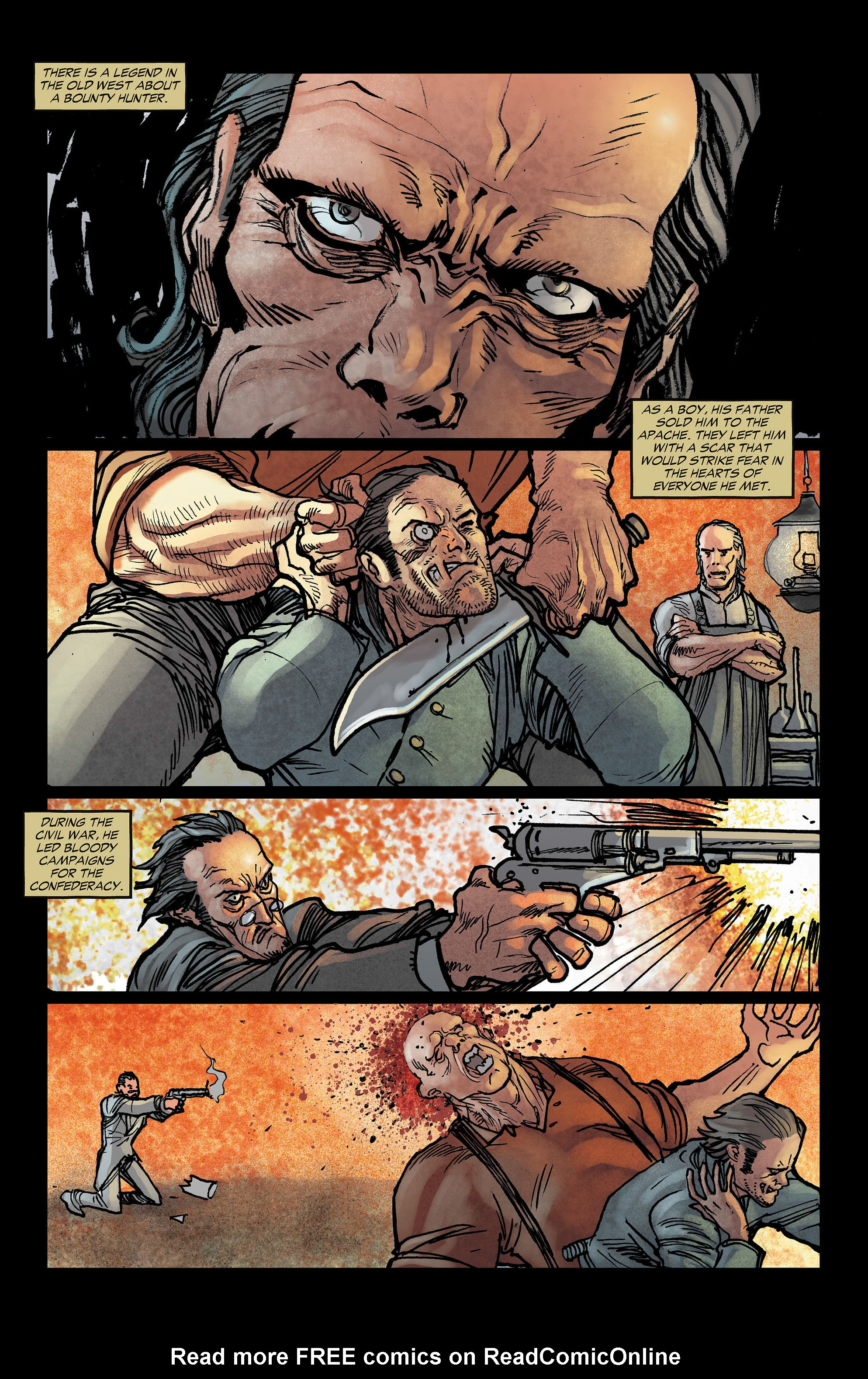 Read online All-Star Western (2011) comic -  Issue #3 - 2