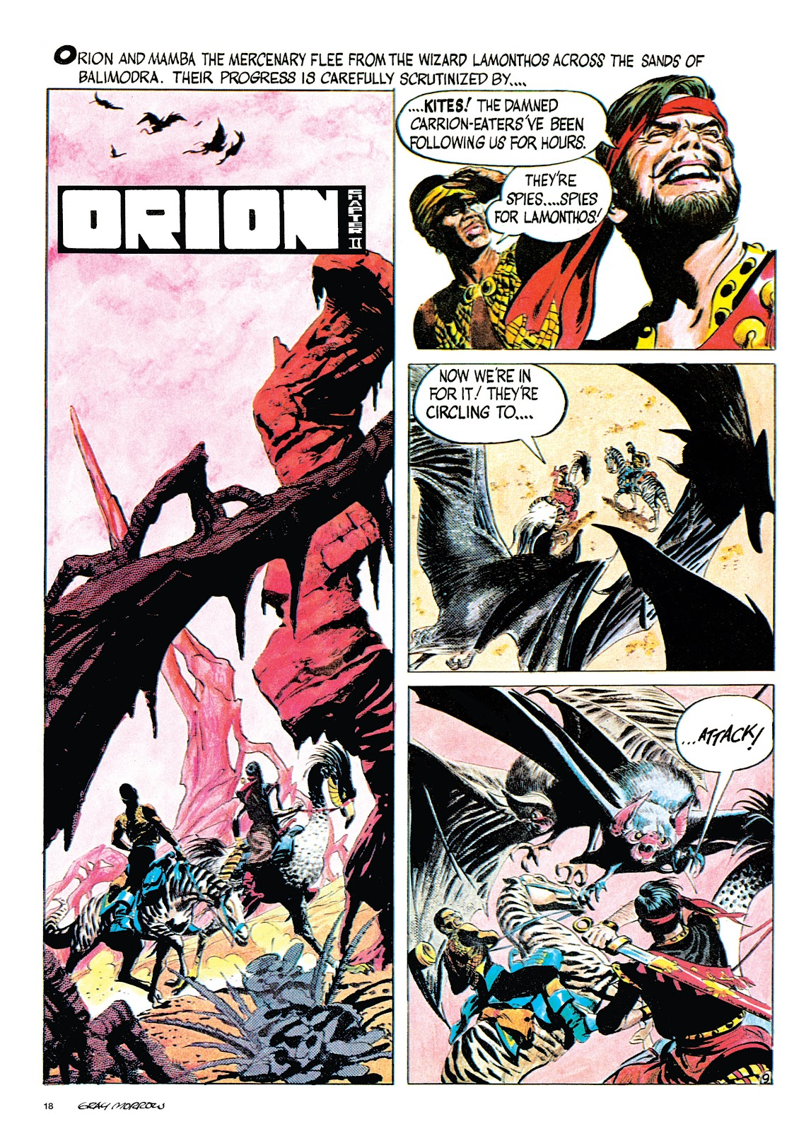 Read online Orion and Edge of Chaos comic -  Issue # TPB - 19