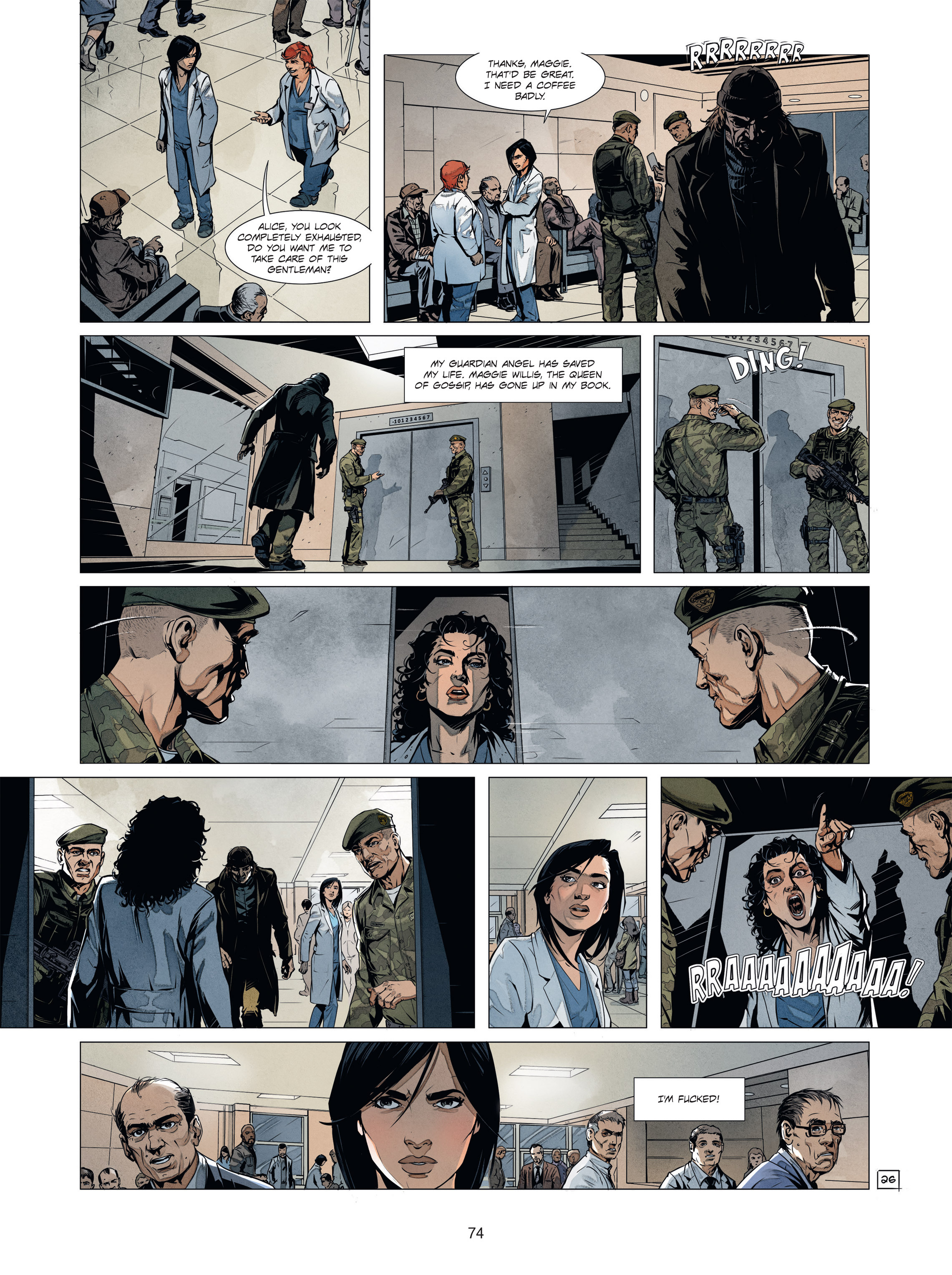Read online Alice Matheson comic -  Issue #1 - 73