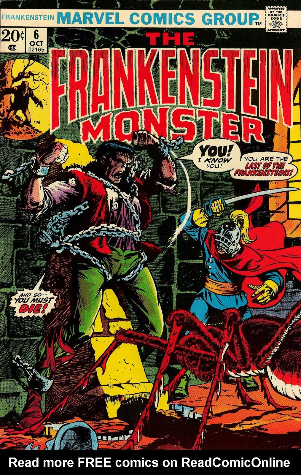 Frankenstein (1973) issue 6 - Page 1
