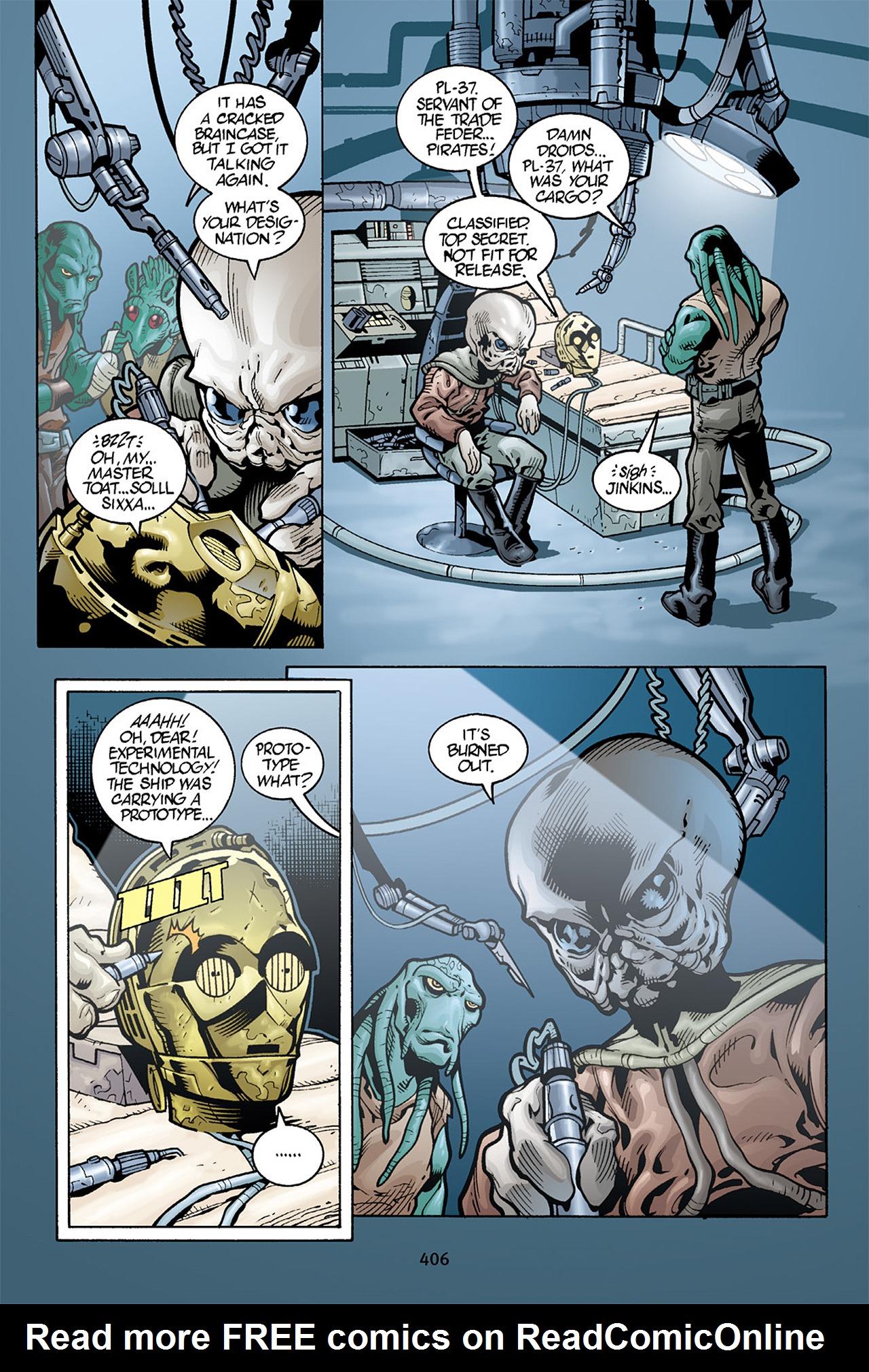 Read online Star Wars Omnibus comic -  Issue # Vol. 10 - 399