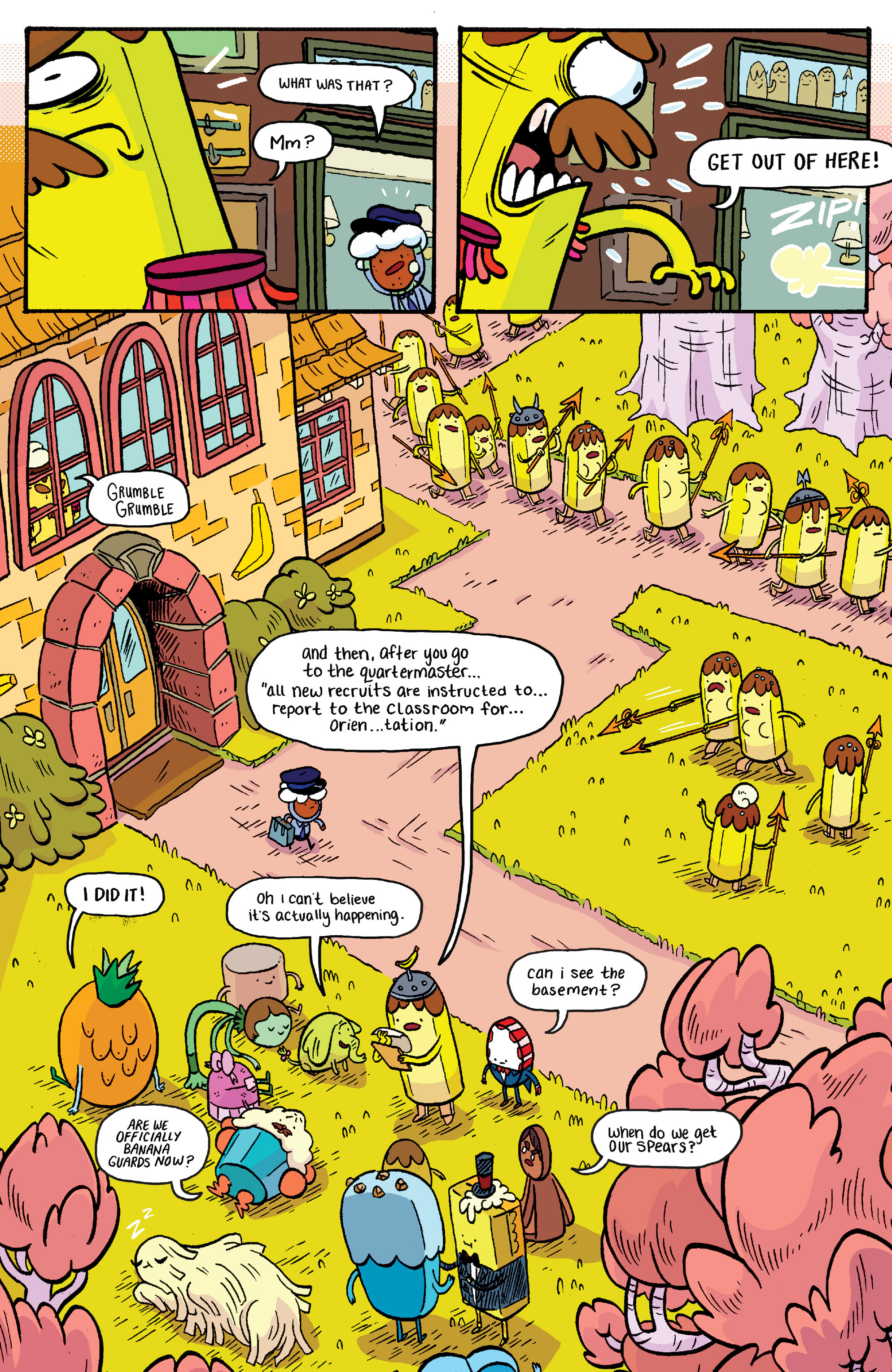 Read online Adventure Time: Banana Guard Academ comic -  Issue #2 - 7