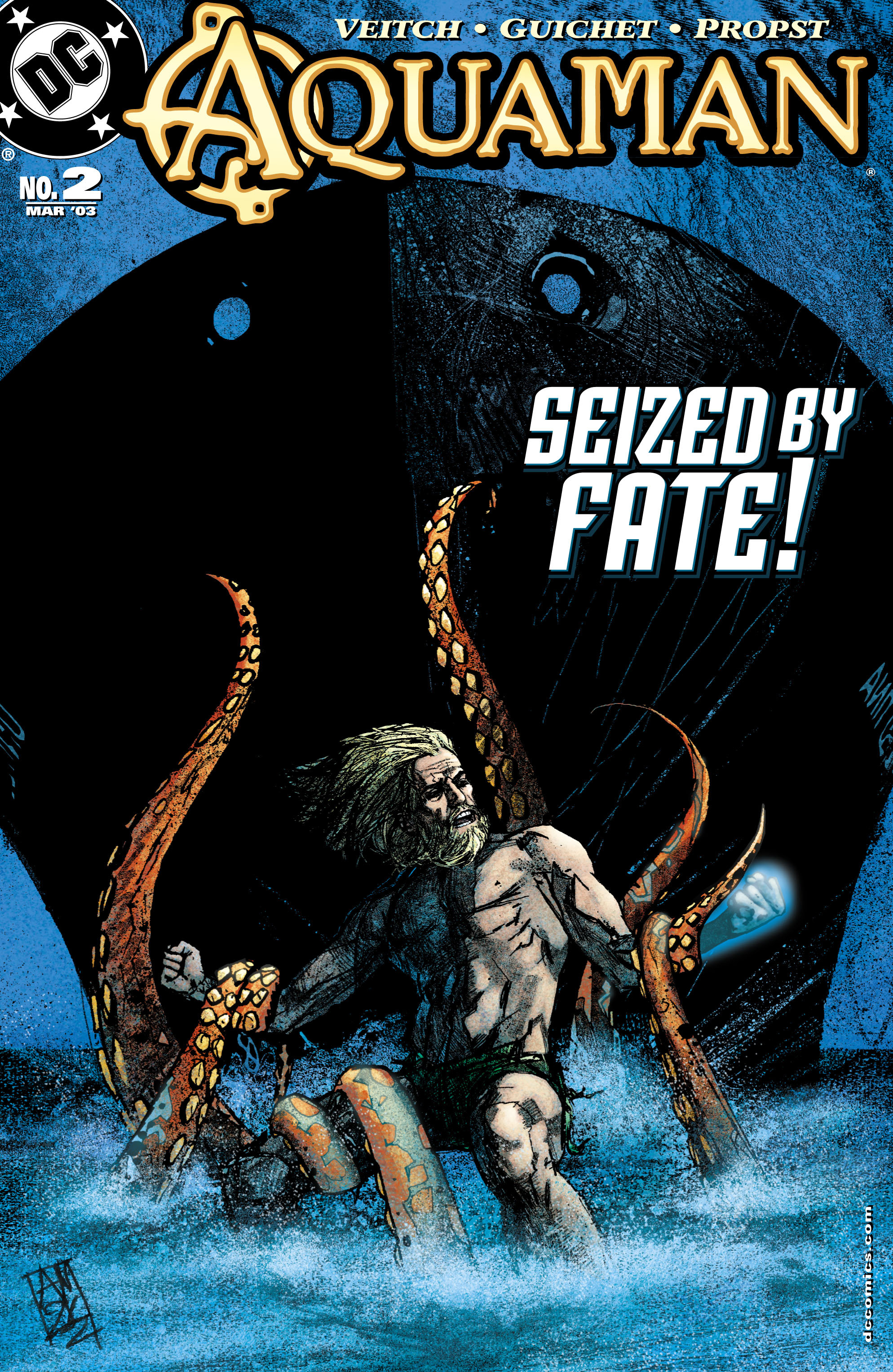 Read online Aquaman (2003) comic -  Issue #2 - 1