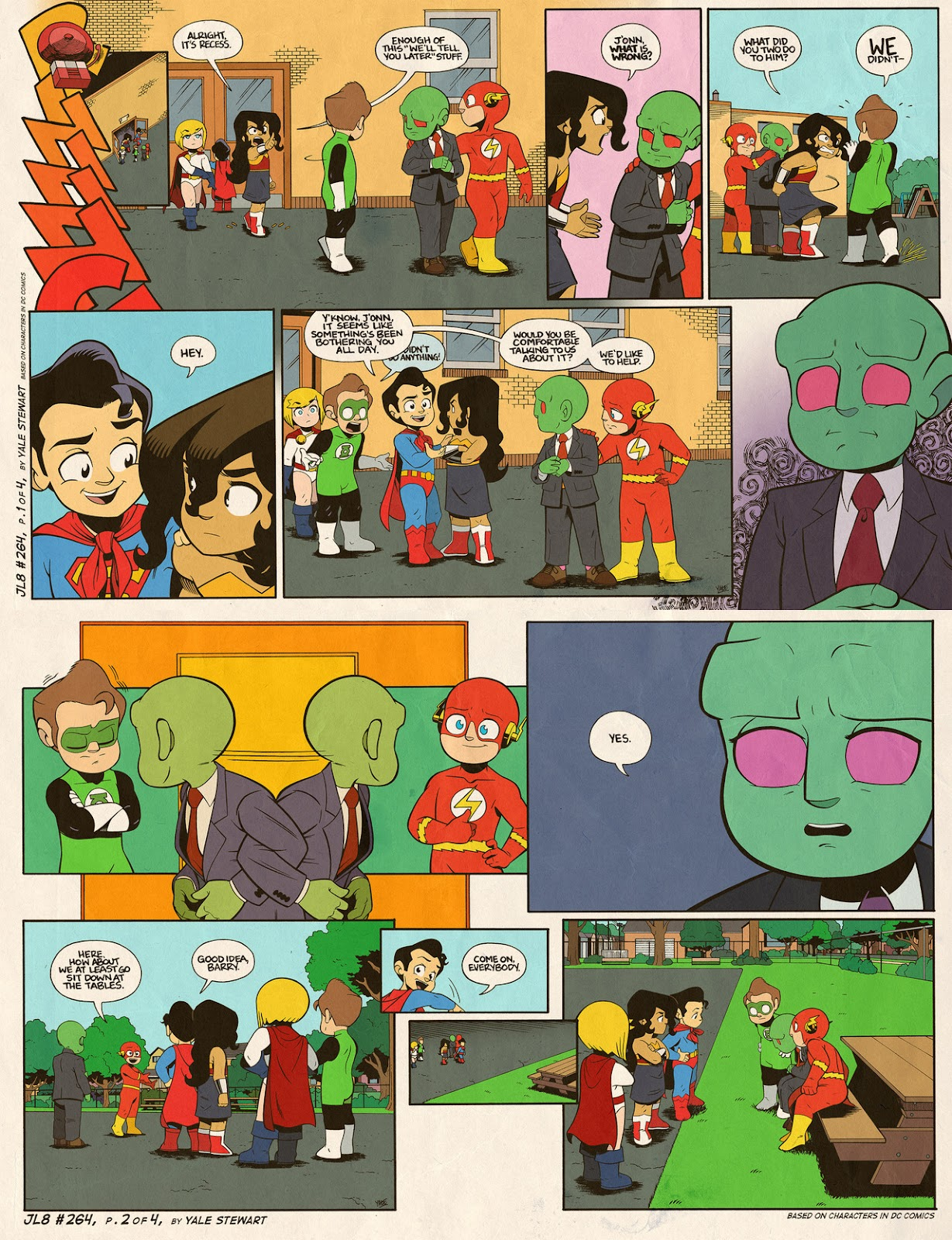 Read online JL8 – The Complete Collection comic -  Issue # TPB (Part 2) - 76