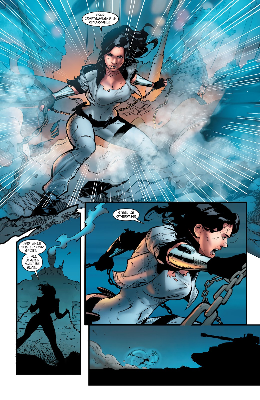 Read online Smallville Season 11 [II] comic -  Issue # TPB 5 - 60