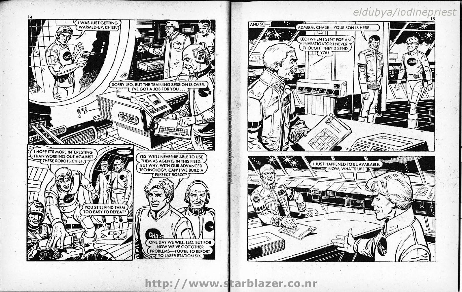Starblazer issue 73 - Page 9