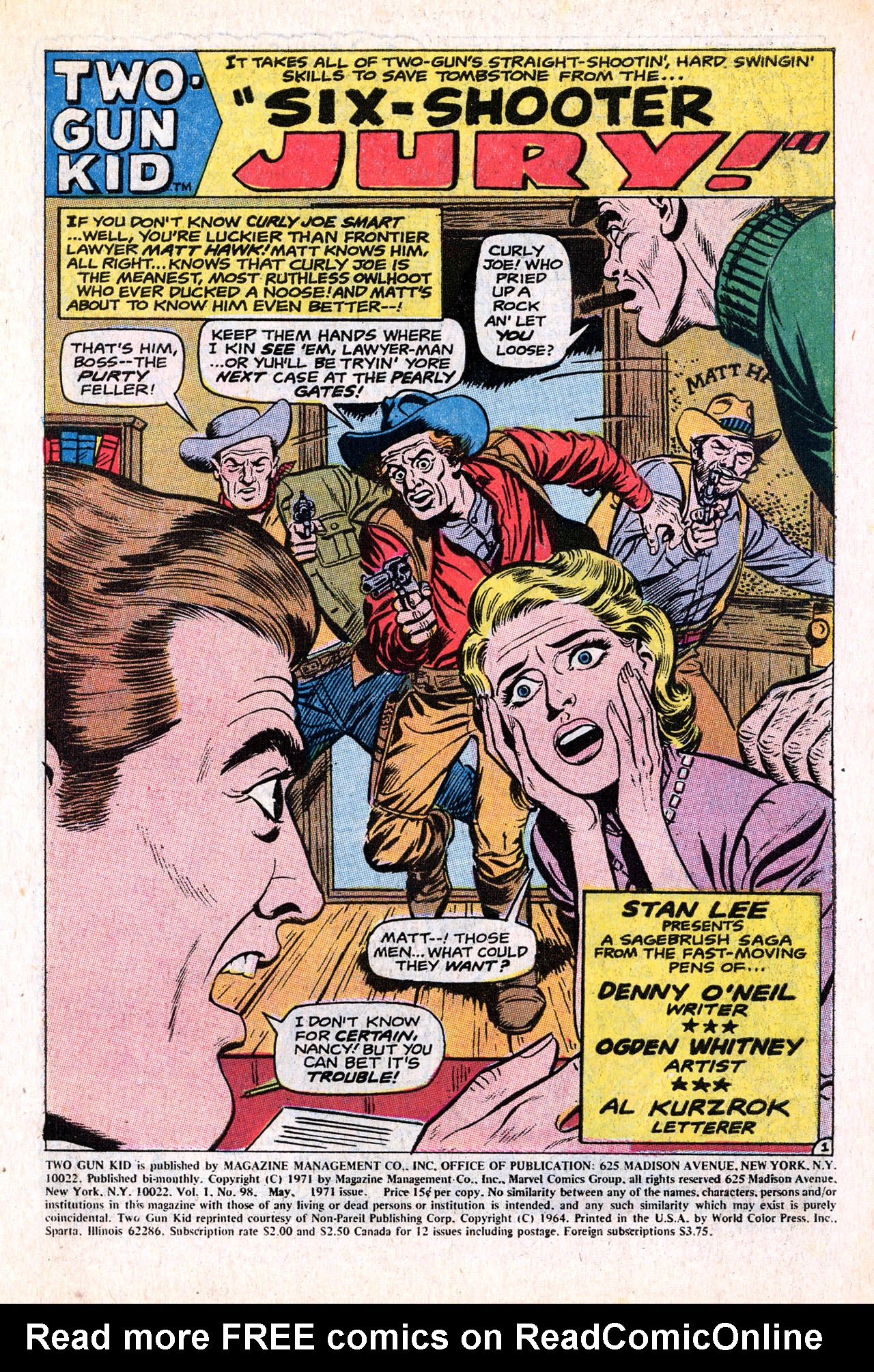 Read online Two-Gun Kid comic -  Issue #98 - 3
