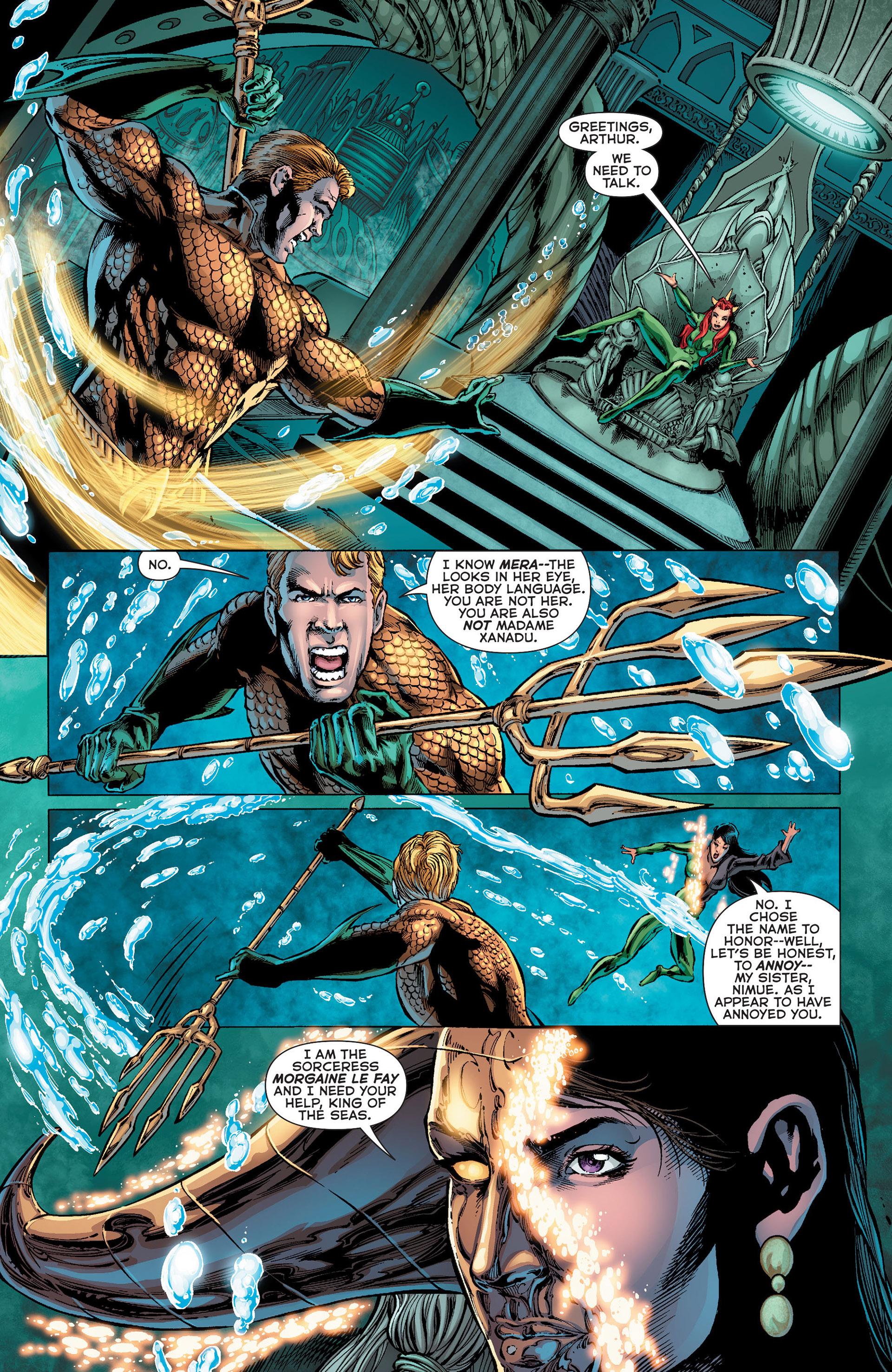 Read online Aquaman (2011) comic -  Issue #Aquaman (2011) _Annual 1 - 26
