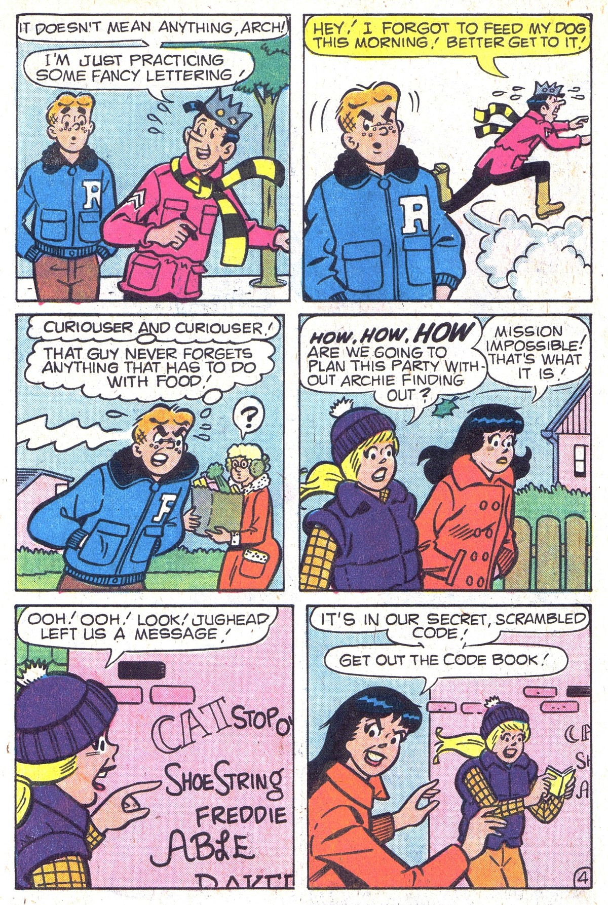 Read online Archie (1960) comic -  Issue #300 - 6