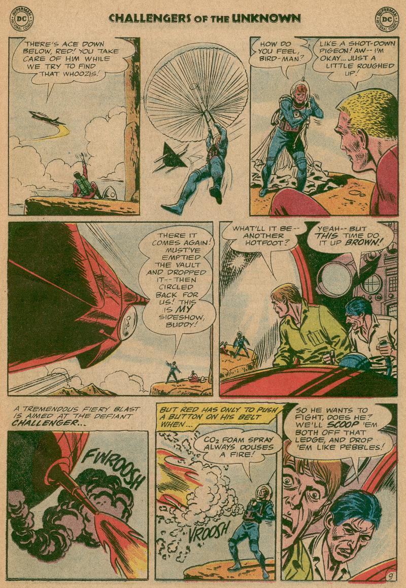 Challengers of the Unknown (1958) issue 40 - Page 11
