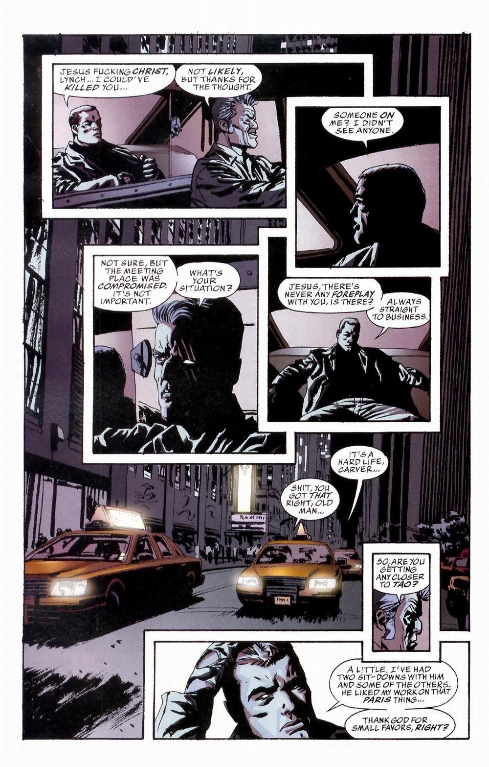 Read online Sleeper comic -  Issue #3 - 4