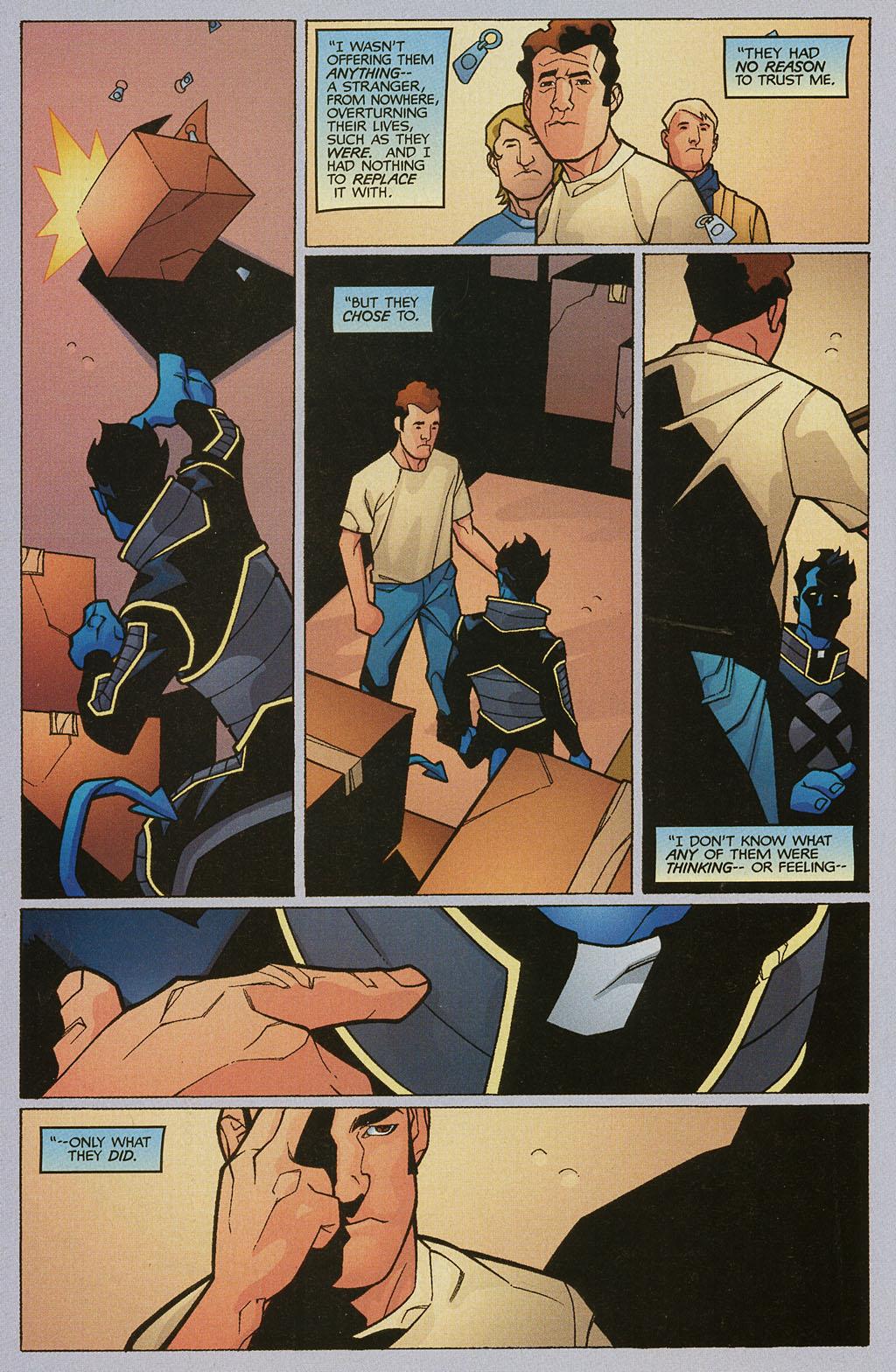 Read online Nightcrawler (2002) comic -  Issue #2 - 20