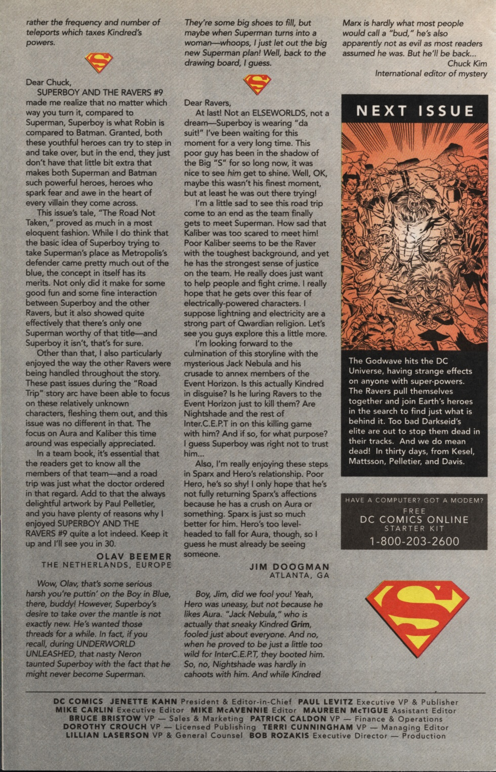 Read online Superboy & The Ravers comic -  Issue #13 - 25