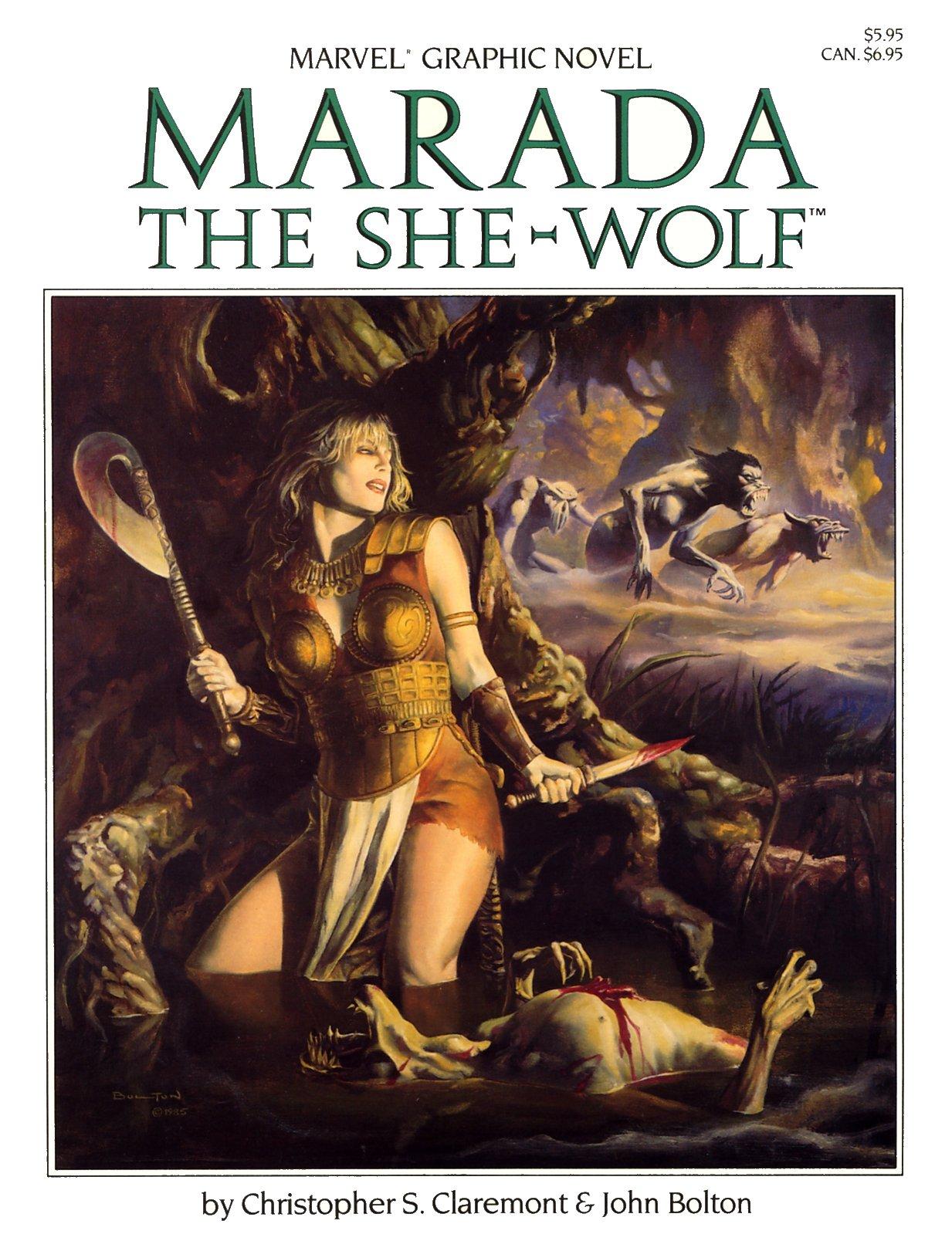 Marvel Graphic Novel 21_-_Marada_the_She-Wolf Page 1