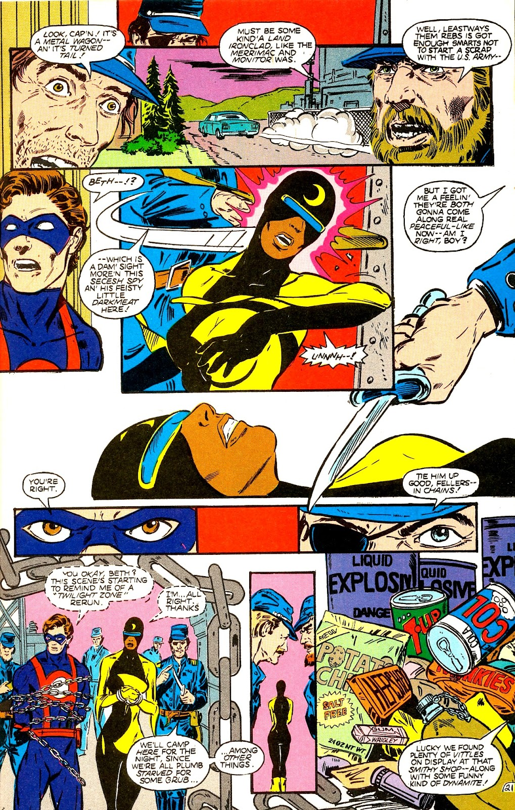 Infinity Inc. (1984) issue 22 - Page 23