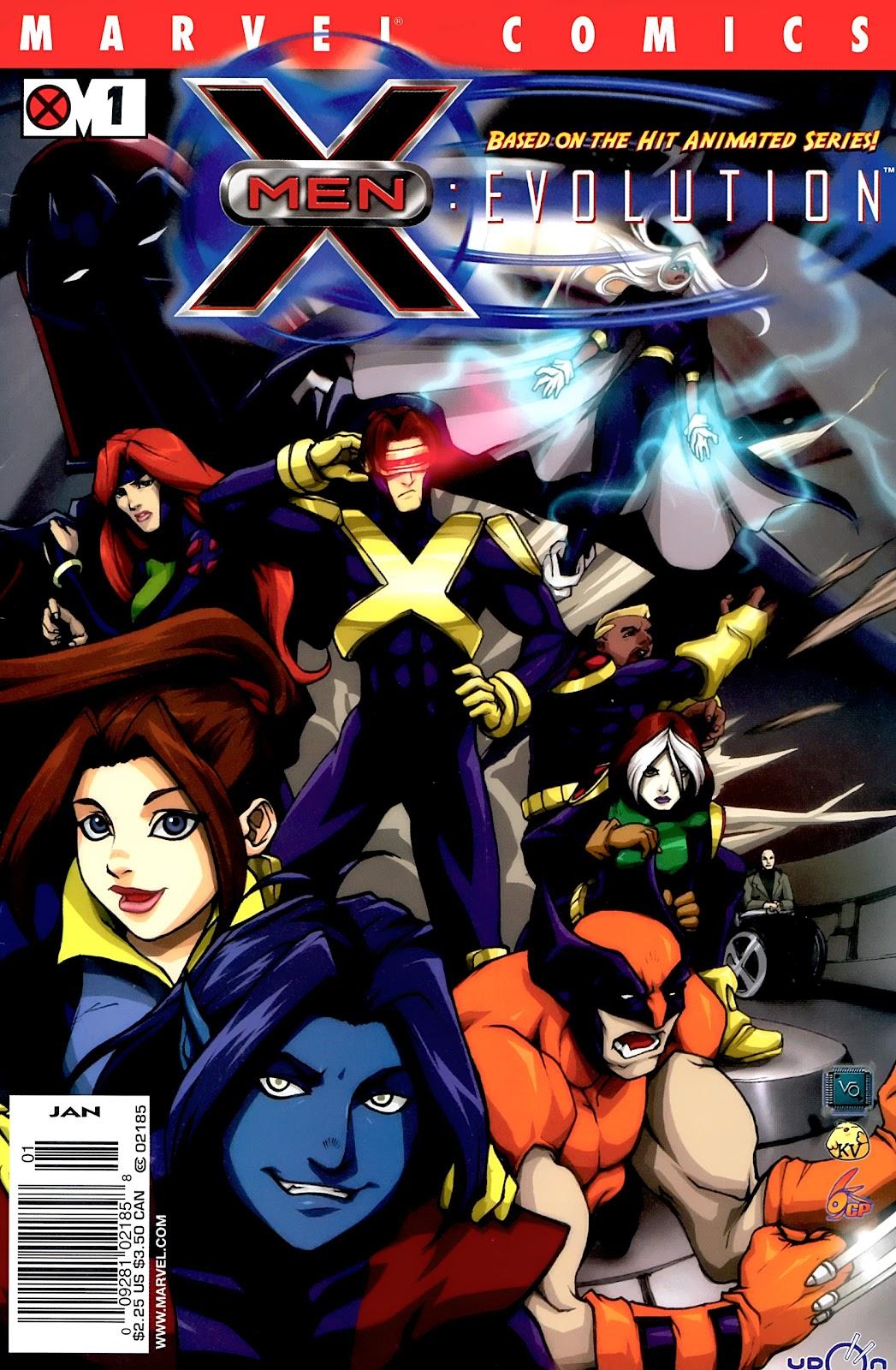 X-Men: Evolution 1 Page 1