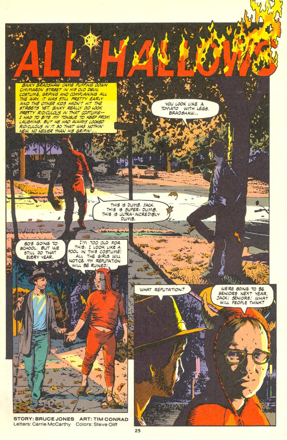 Read online Twisted Tales (1982) comic -  Issue #1 - 25
