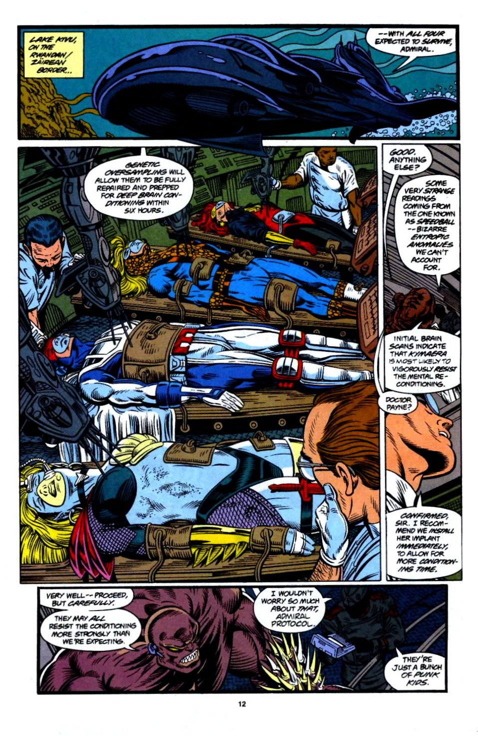 The New Warriors Issue #55 #59 - English 8