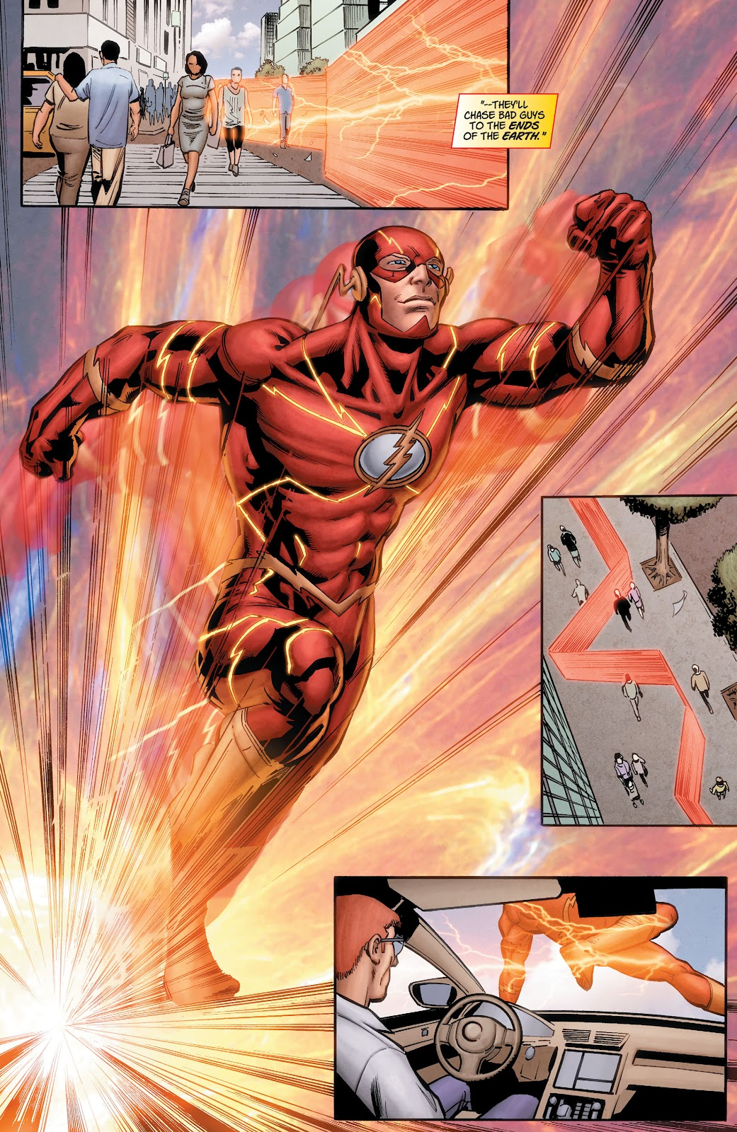 Read online The Flash (2011) comic -  Issue # _TPB 7 - 128