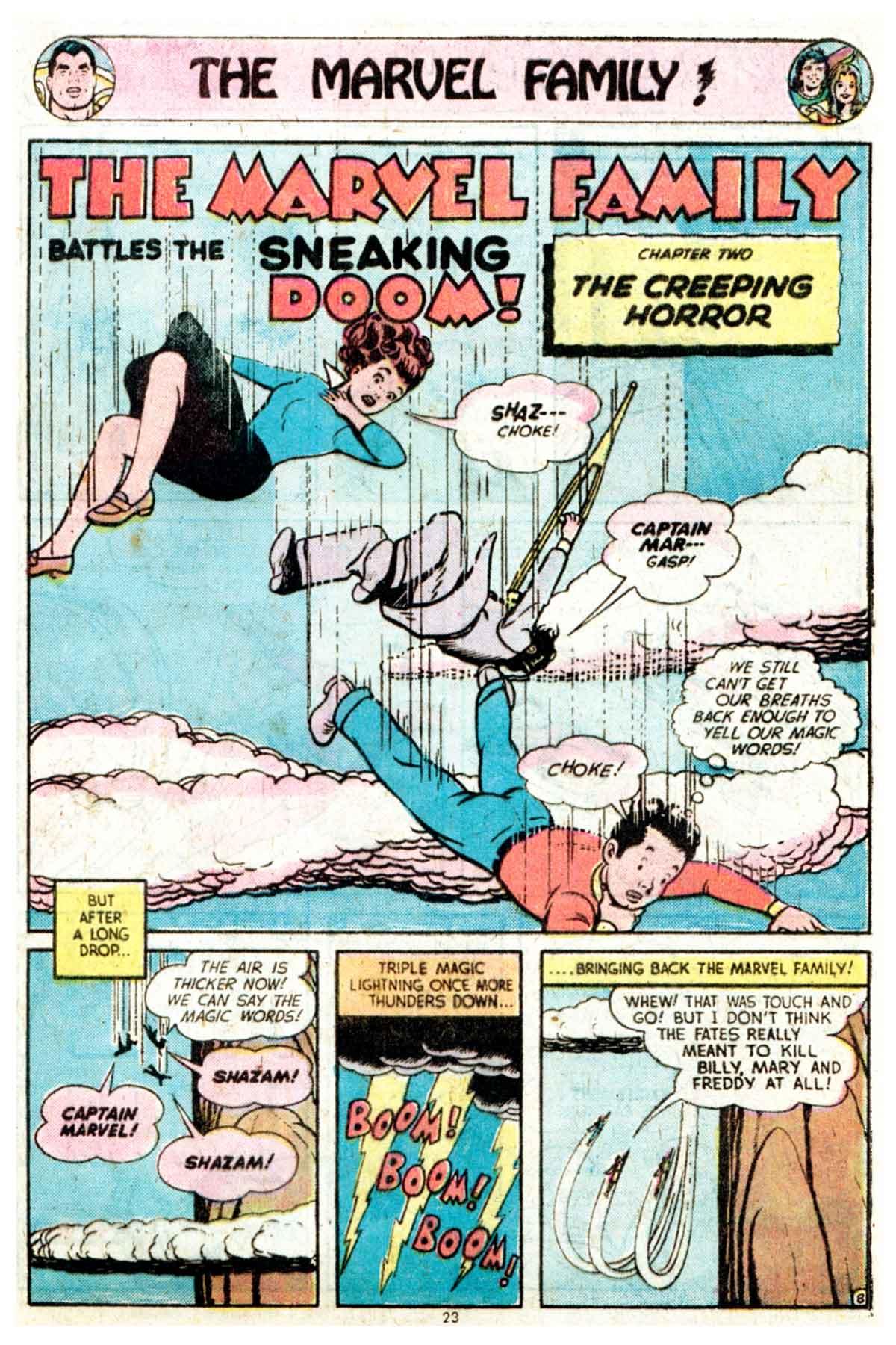 Read online Shazam! (1973) comic -  Issue #16 - 23