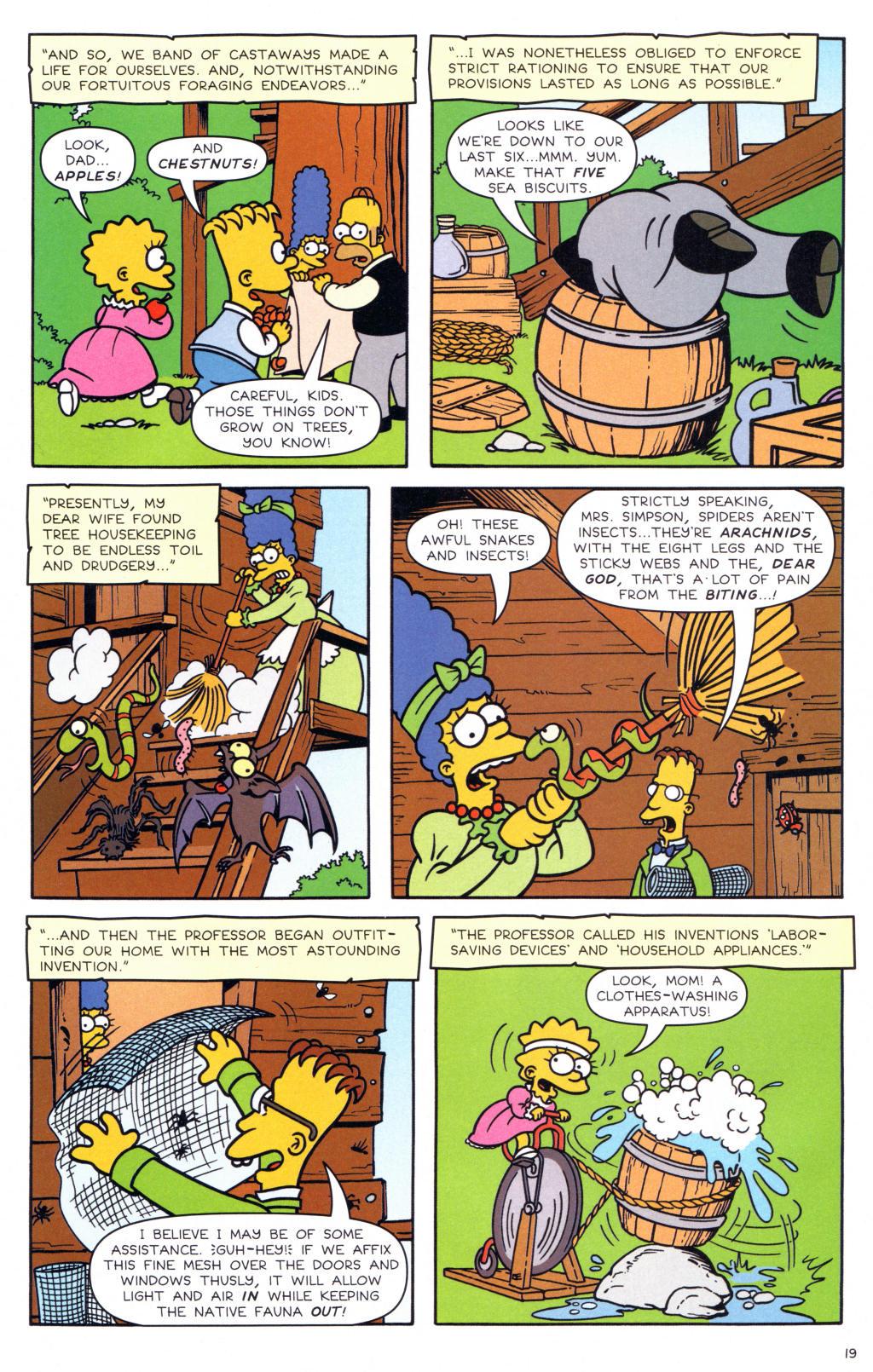 Read online Simpsons Comics comic -  Issue #127 - 16