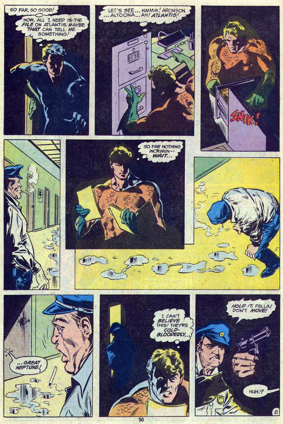Read online Adventure Comics (1938) comic -  Issue #461 - 50