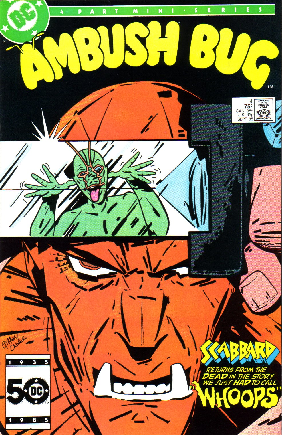 Read online Ambush Bug comic -  Issue #4 - 1