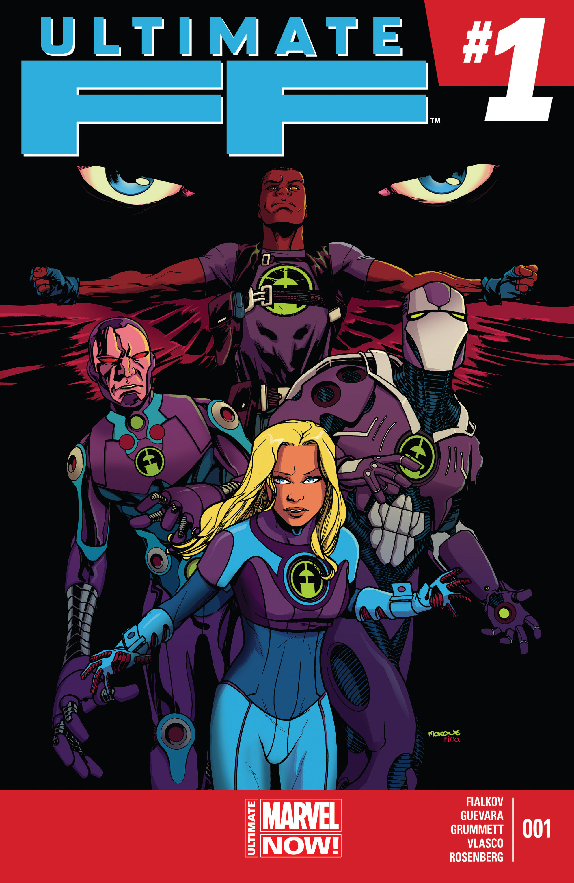 Read online Ultimate FF comic -  Issue #1 - 1