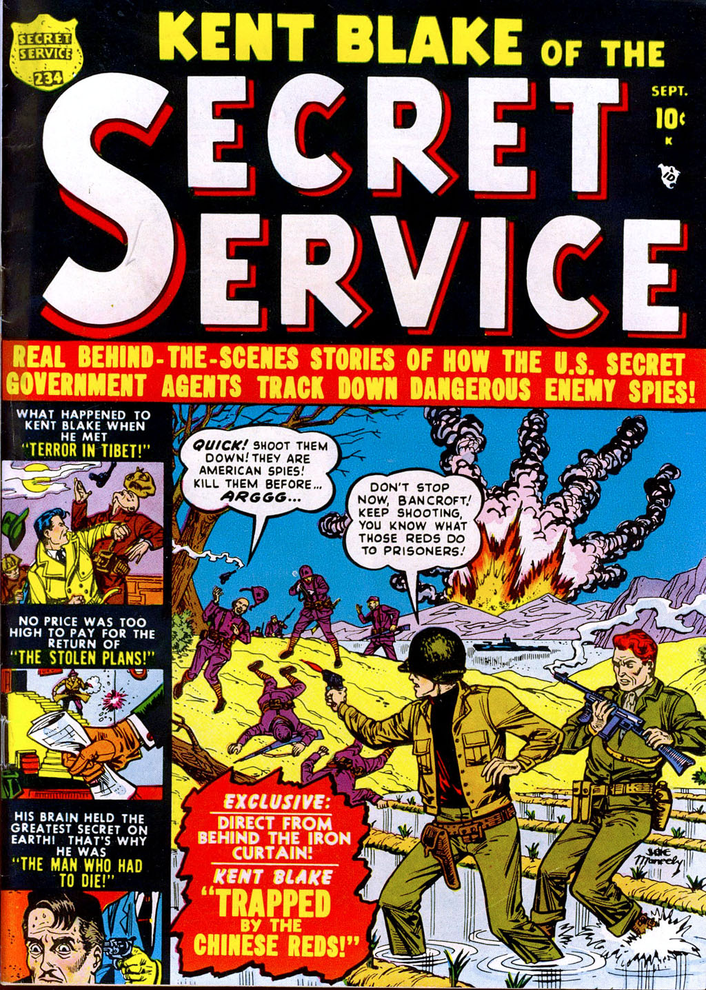 Kent Blake of the Secret Service issue 3 - Page 1