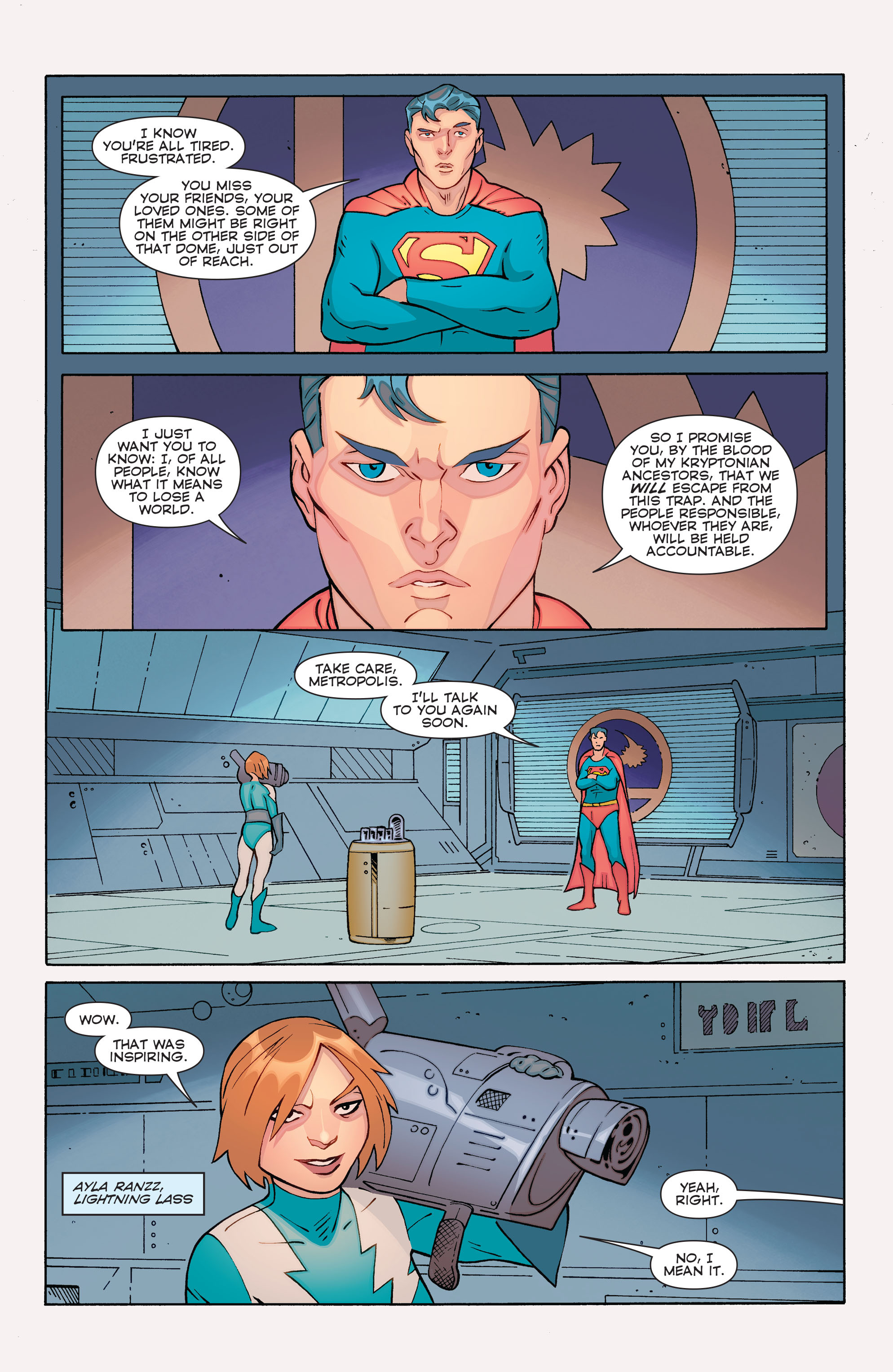 Read online Convergence Superboy and the Legion of Super-Heroes comic -  Issue #1 - 5