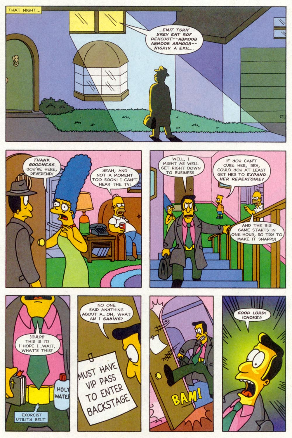 Read online Treehouse of Horror comic -  Issue #2 - 27