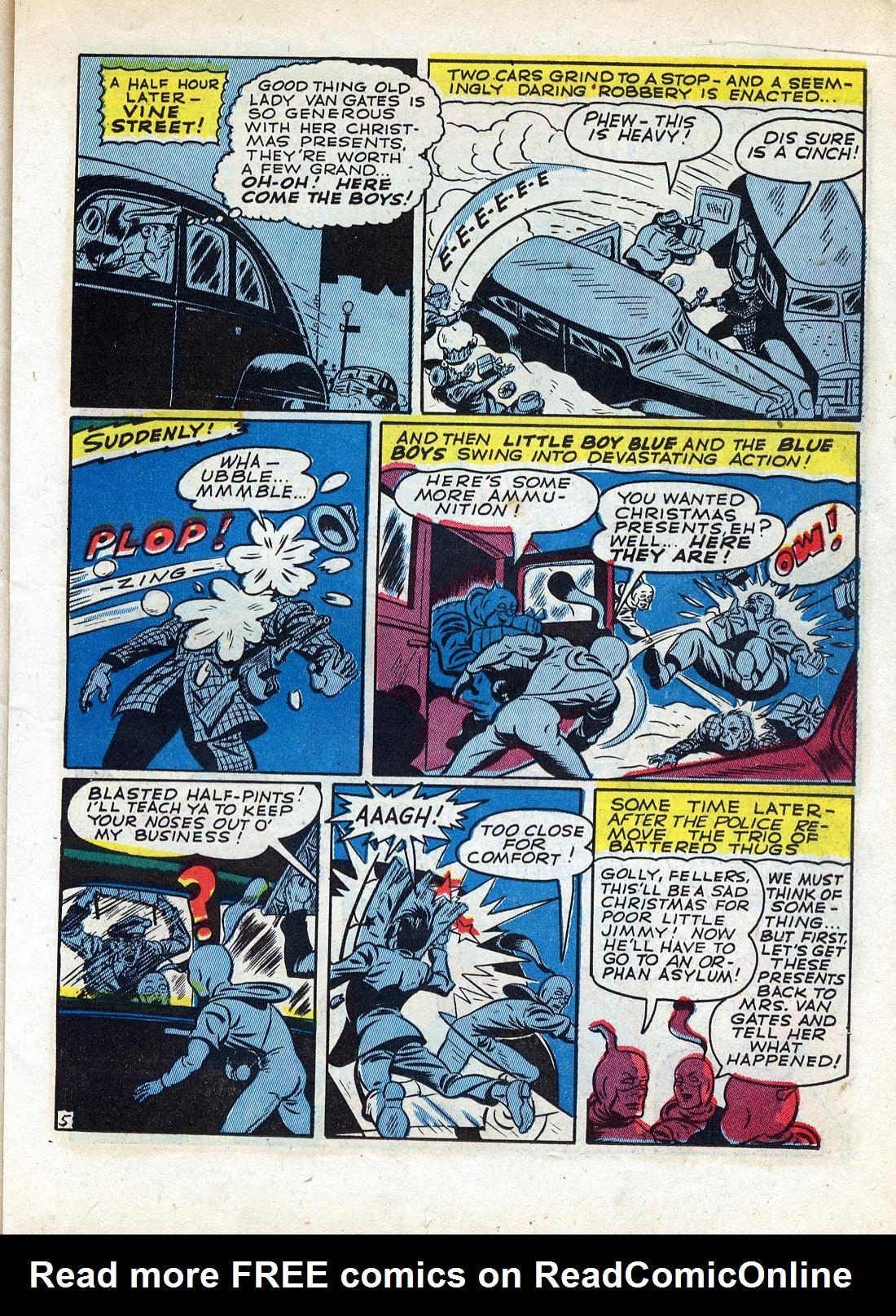 Read online Sensation (Mystery) Comics comic -  Issue #26 - 29