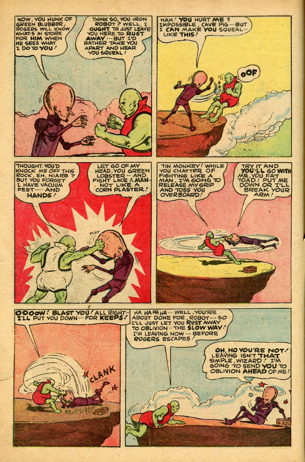 Read online Famous Funnies comic -  Issue #155 - 4