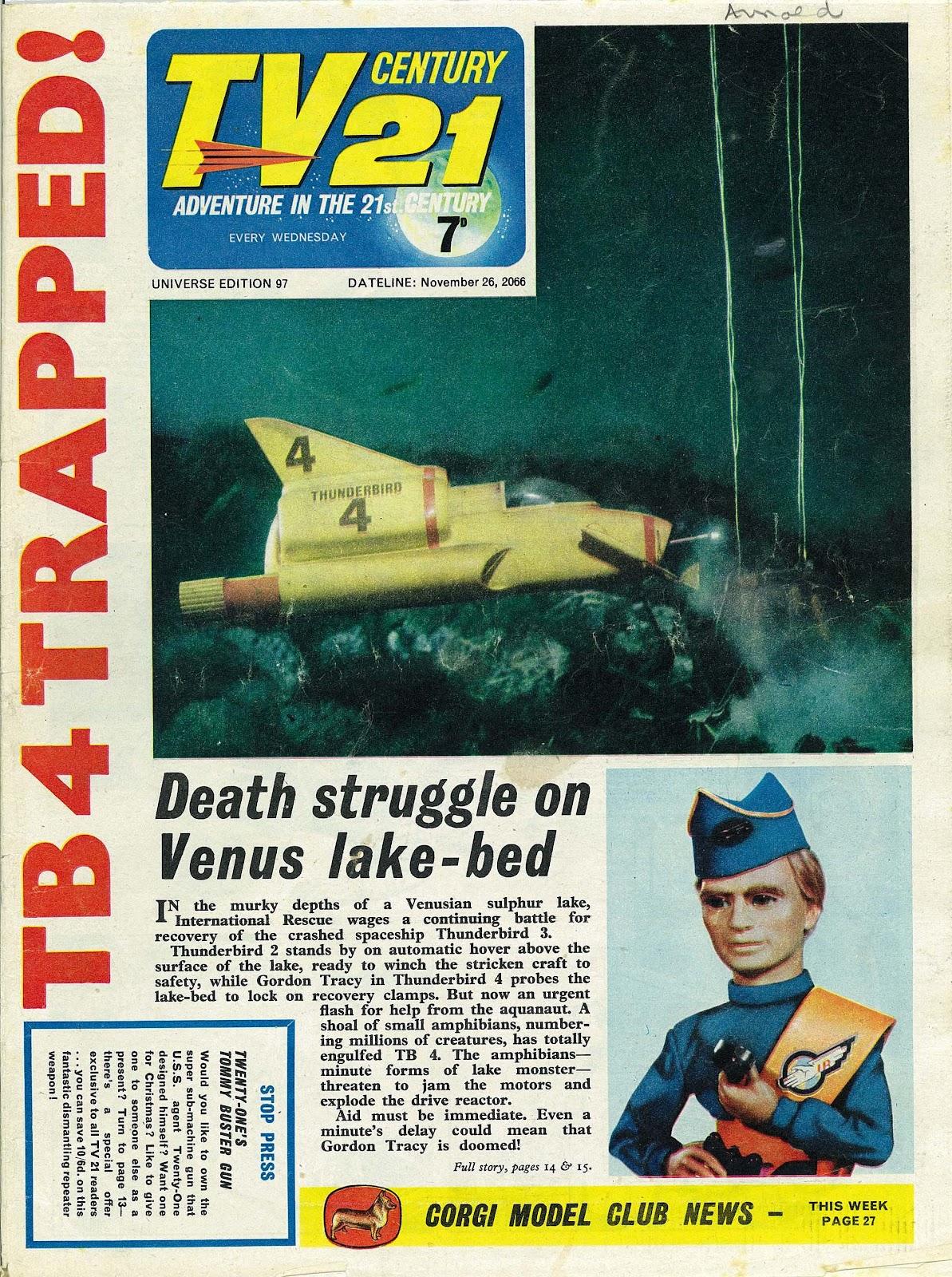 TV Century 21 (TV 21) issue 97 - Page 1
