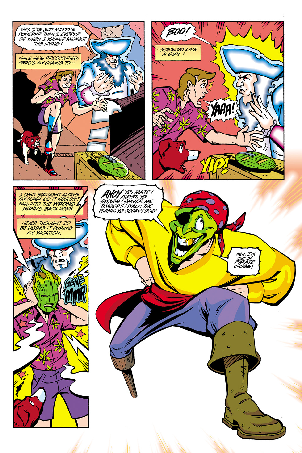 Read online Adventures Of The Mask Omnibus comic -  Issue #Adventures Of The Mask Omnibus Full - 173