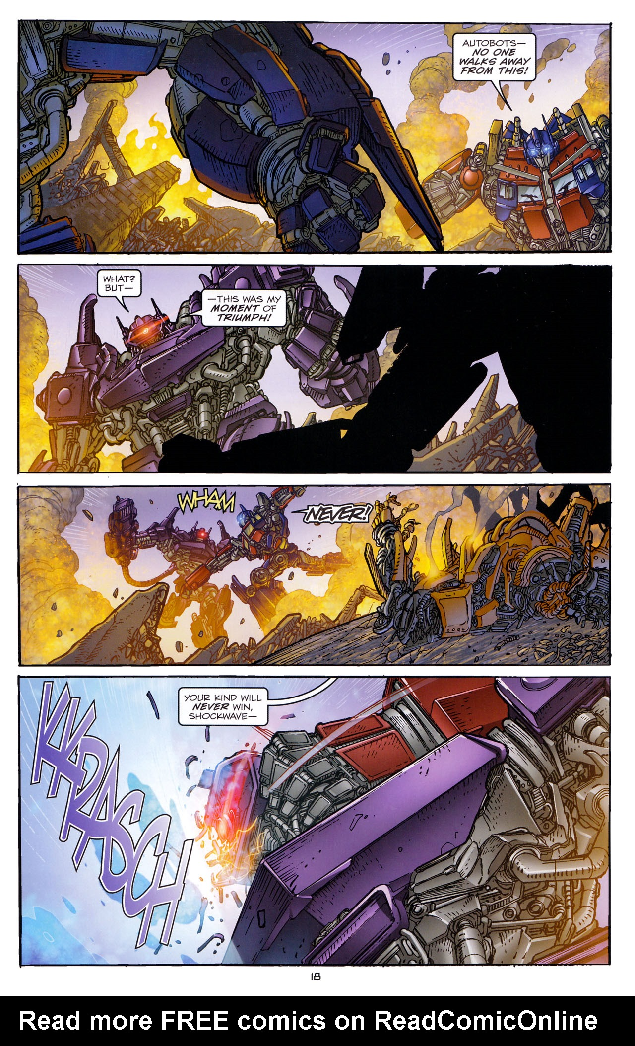 Read online Transformers: Dark of the Moon Rising Storm comic -  Issue #4 - 19