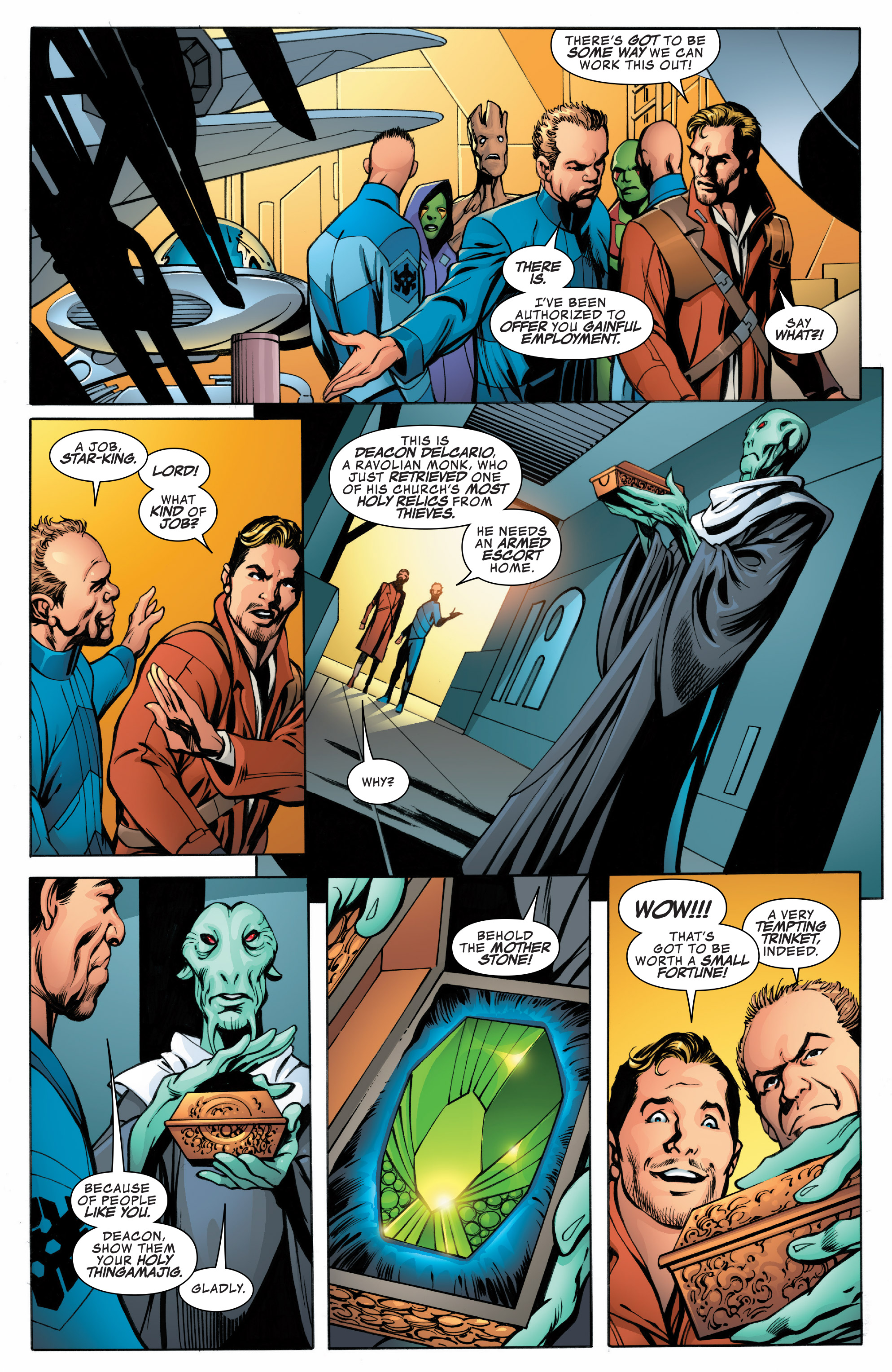 Read online Guardians of the Galaxy: Mother Entropy comic -  Issue #1 - 12