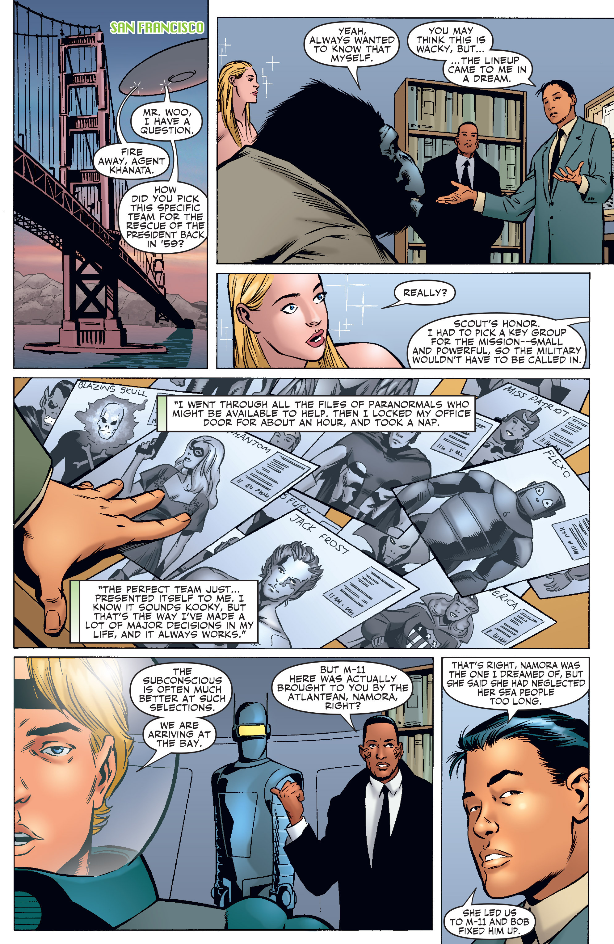 Read online Agents Of Atlas (2006) comic -  Issue #3 - 9