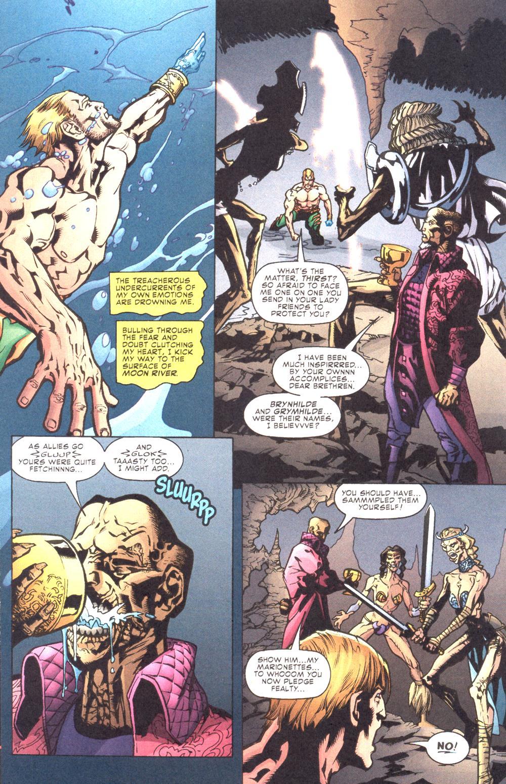 Read online Aquaman (2003) comic -  Issue #10 - 14