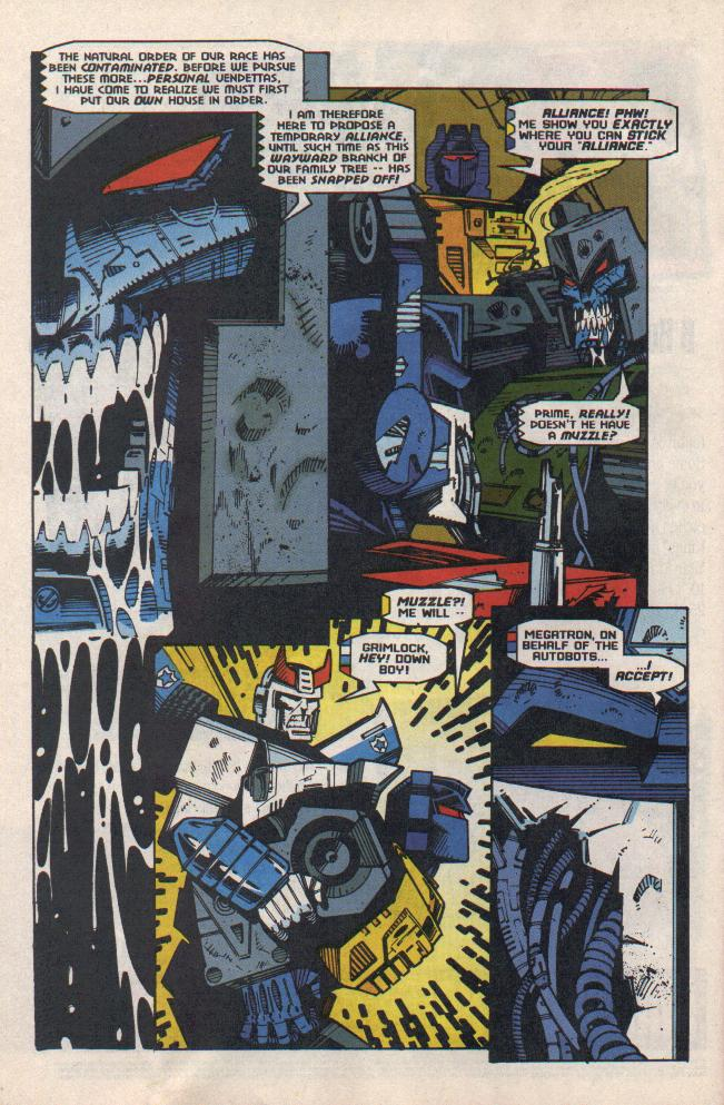 Read online Transformers: Generation 2 comic -  Issue #8 - 7
