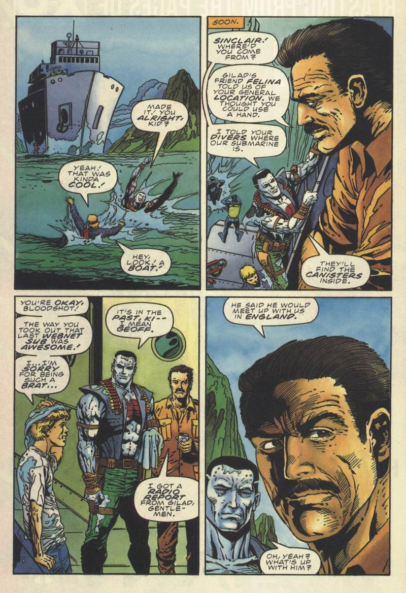 Read online Secret Weapons comic -  Issue #10 - 19