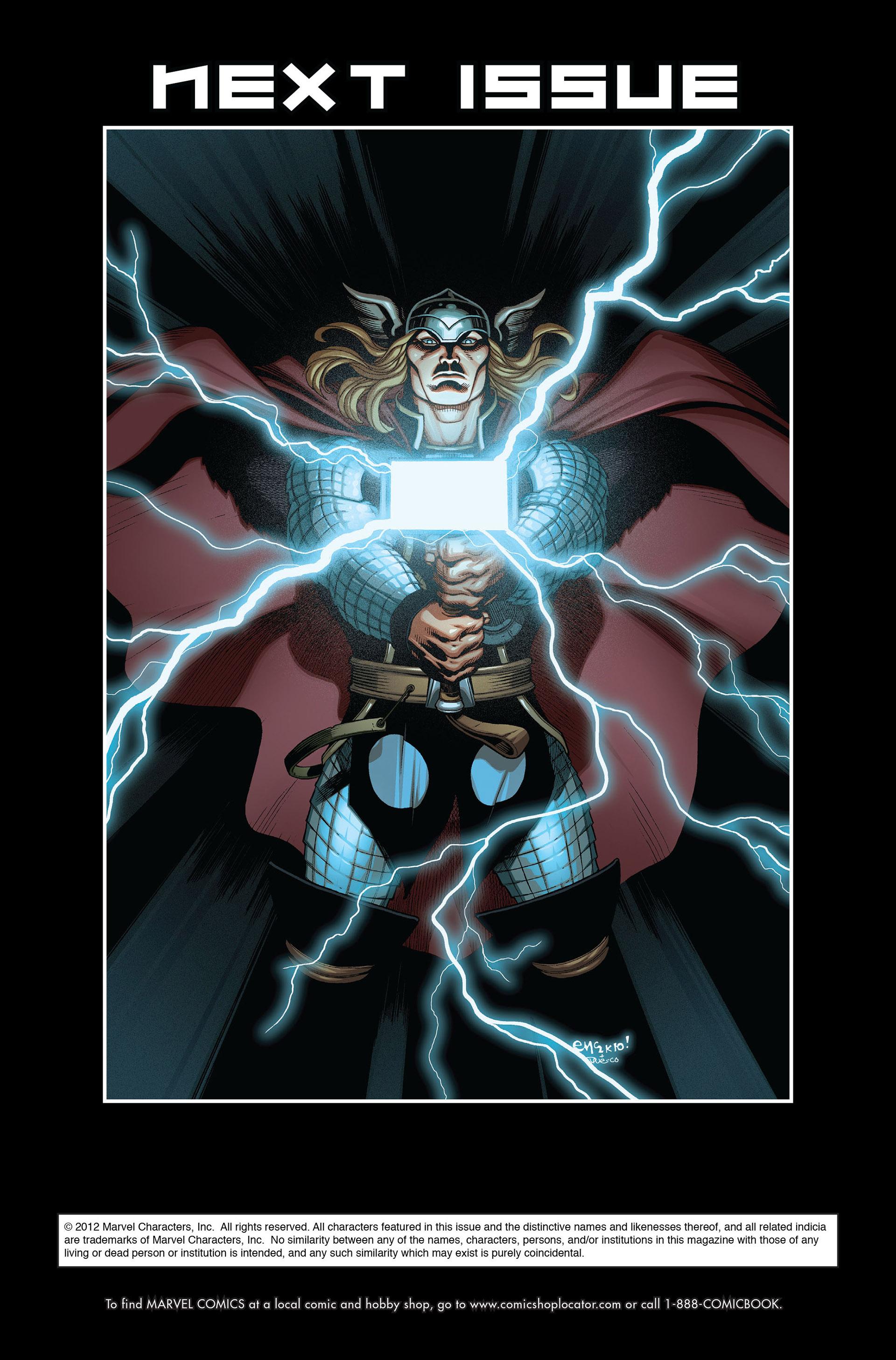 Read online Astonishing Thor comic -  Issue #1 - 22