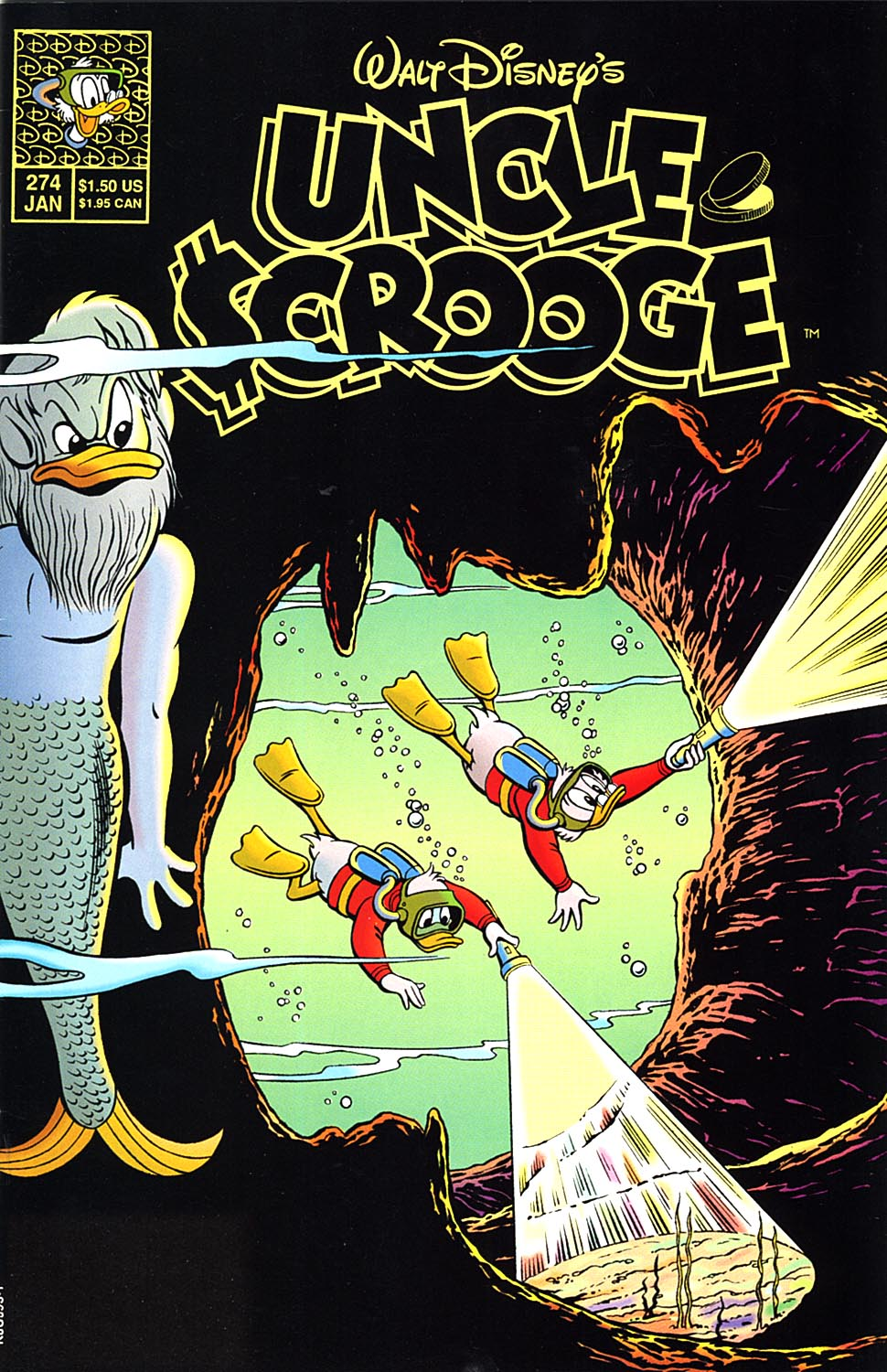 Read online Uncle Scrooge (1953) comic -  Issue #274 - 1