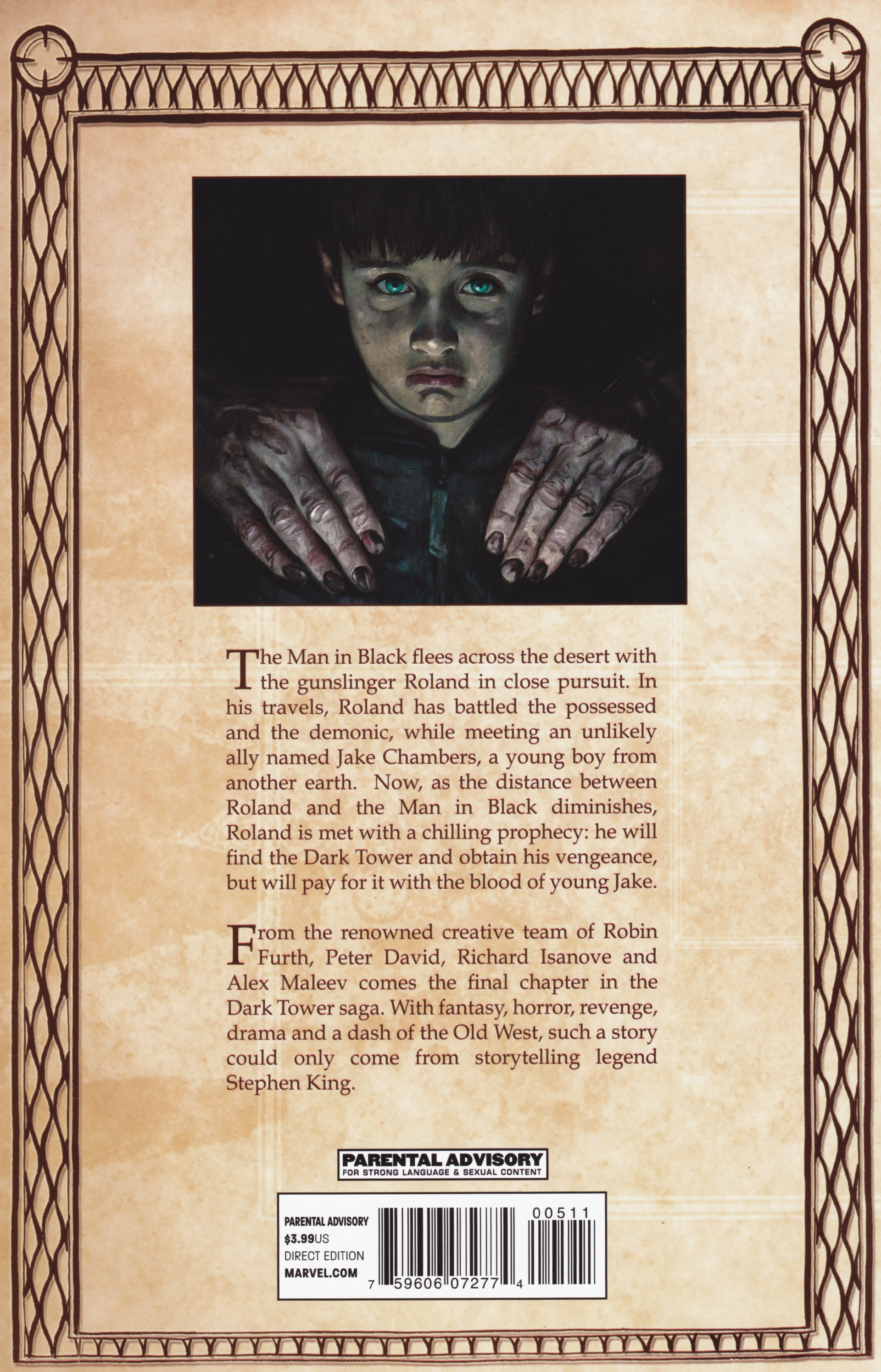 Read online Dark Tower: The Gunslinger - The Man in Black comic -  Issue #5 - 31