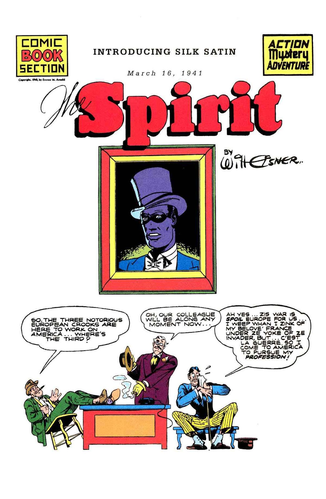 Read online Will Eisner's The Spirit Archives comic -  Issue # TPB 2 (Part 1) - 81