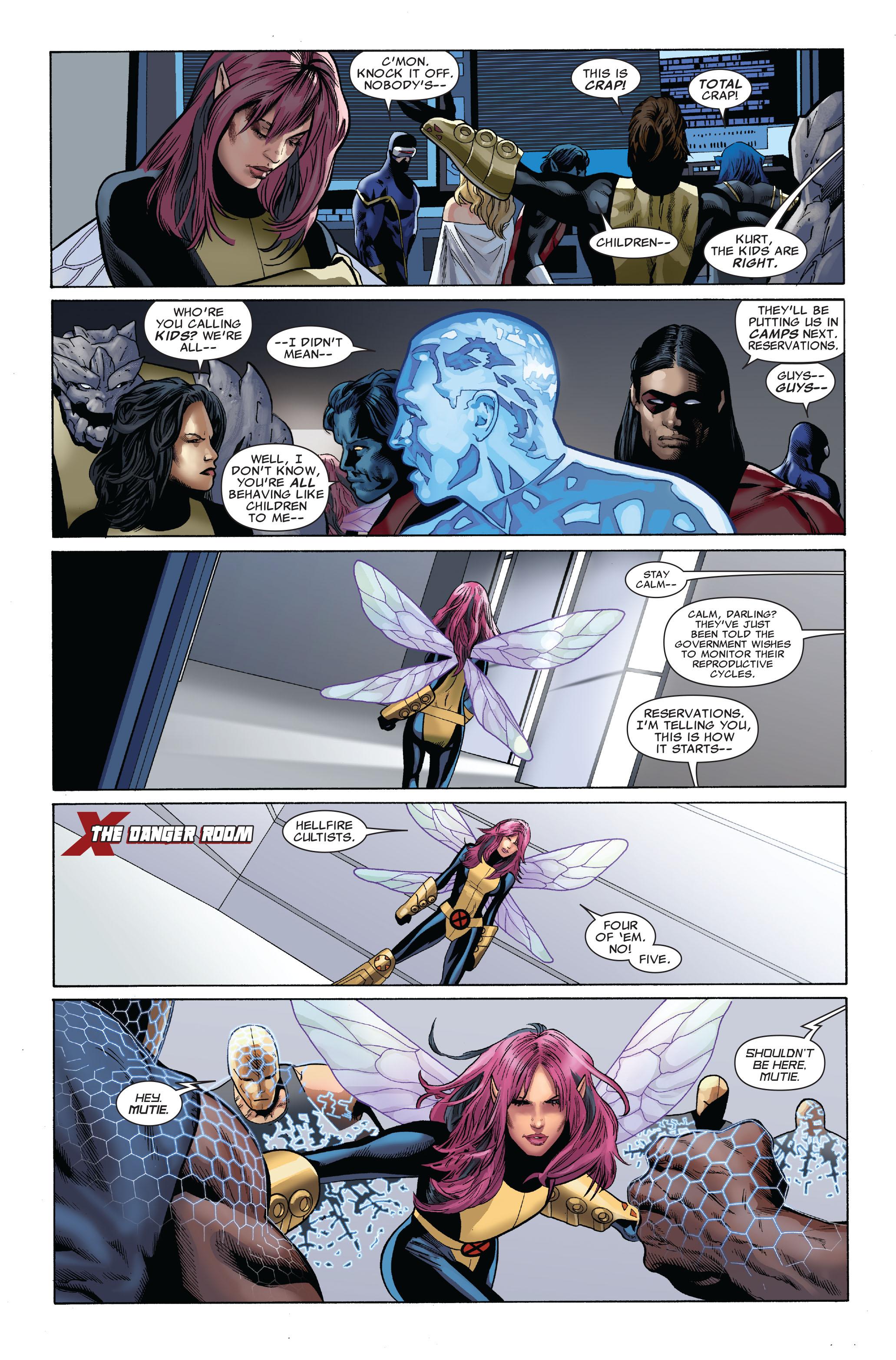 Read online Uncanny X-Men (1963) comic -  Issue #509 - 9