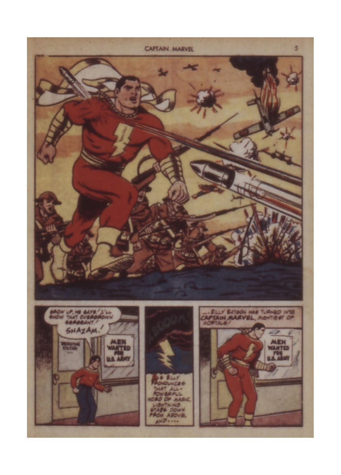 Captain Marvel Adventures issue 12 - Page 5