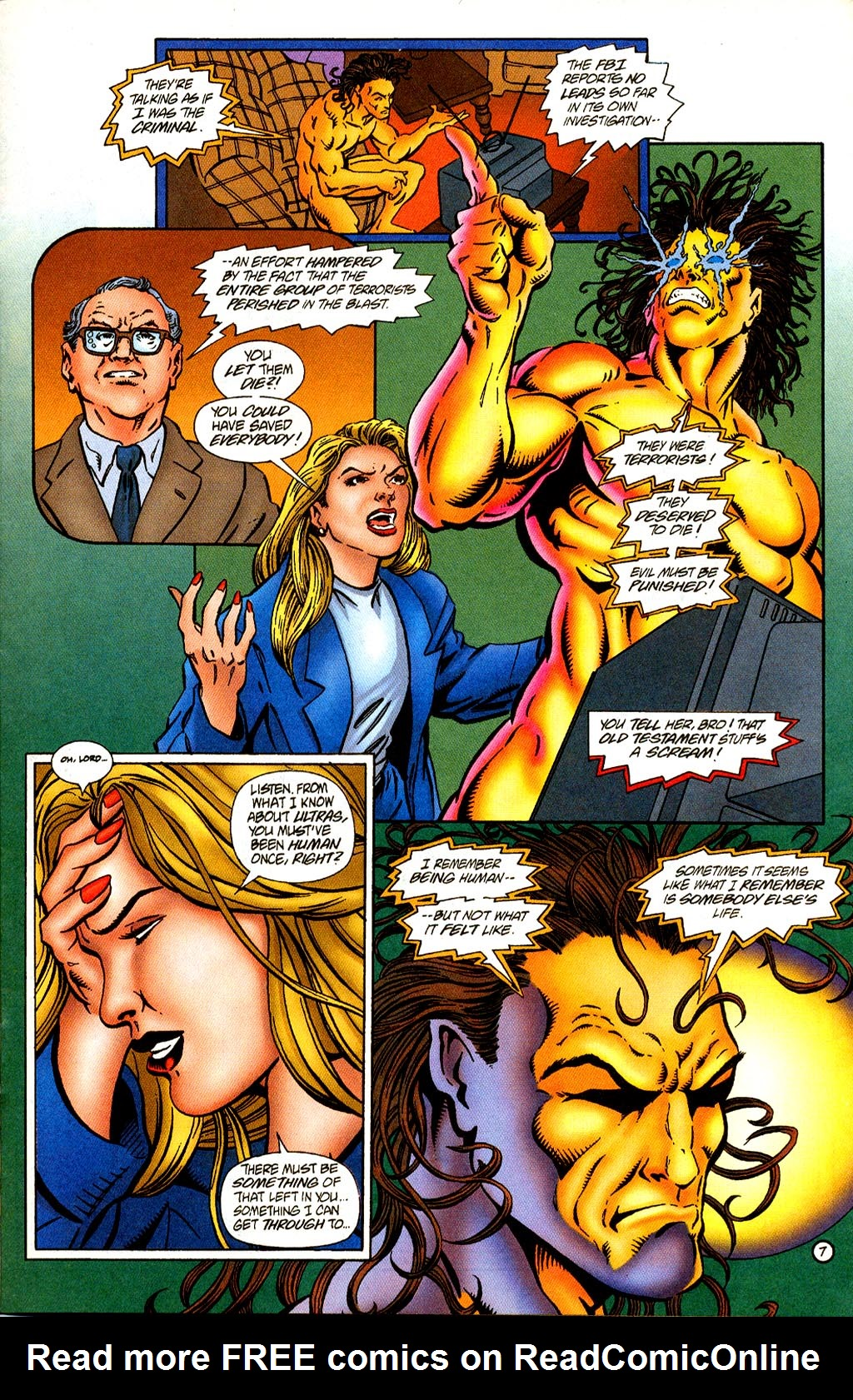 Read online Rune (1995) comic -  Issue #2 - 9