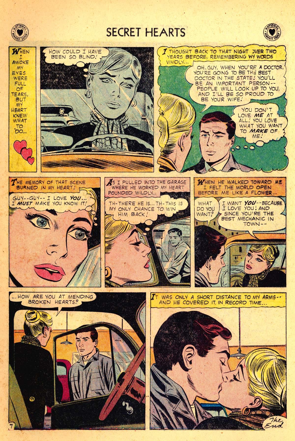 Read online Secret Hearts comic -  Issue #54 - 9